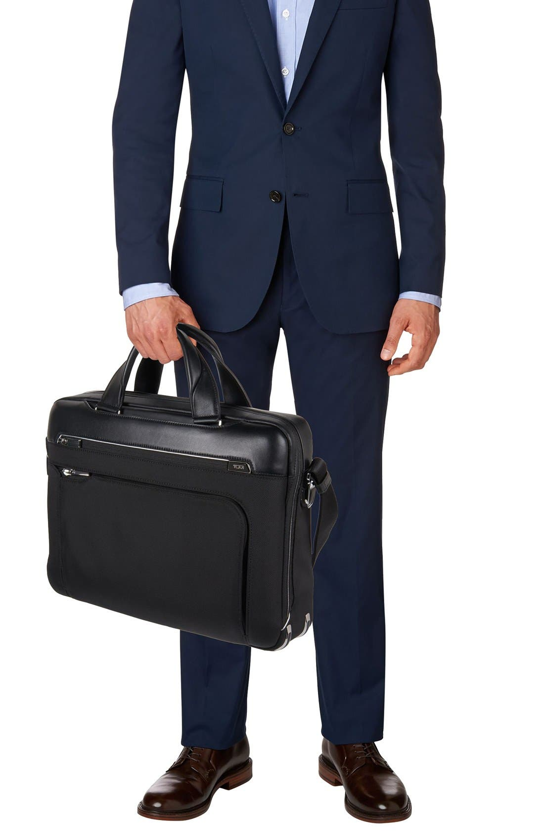 Arrivé - Sawyer Briefcase,                             Alternate thumbnail 5, color,                             001