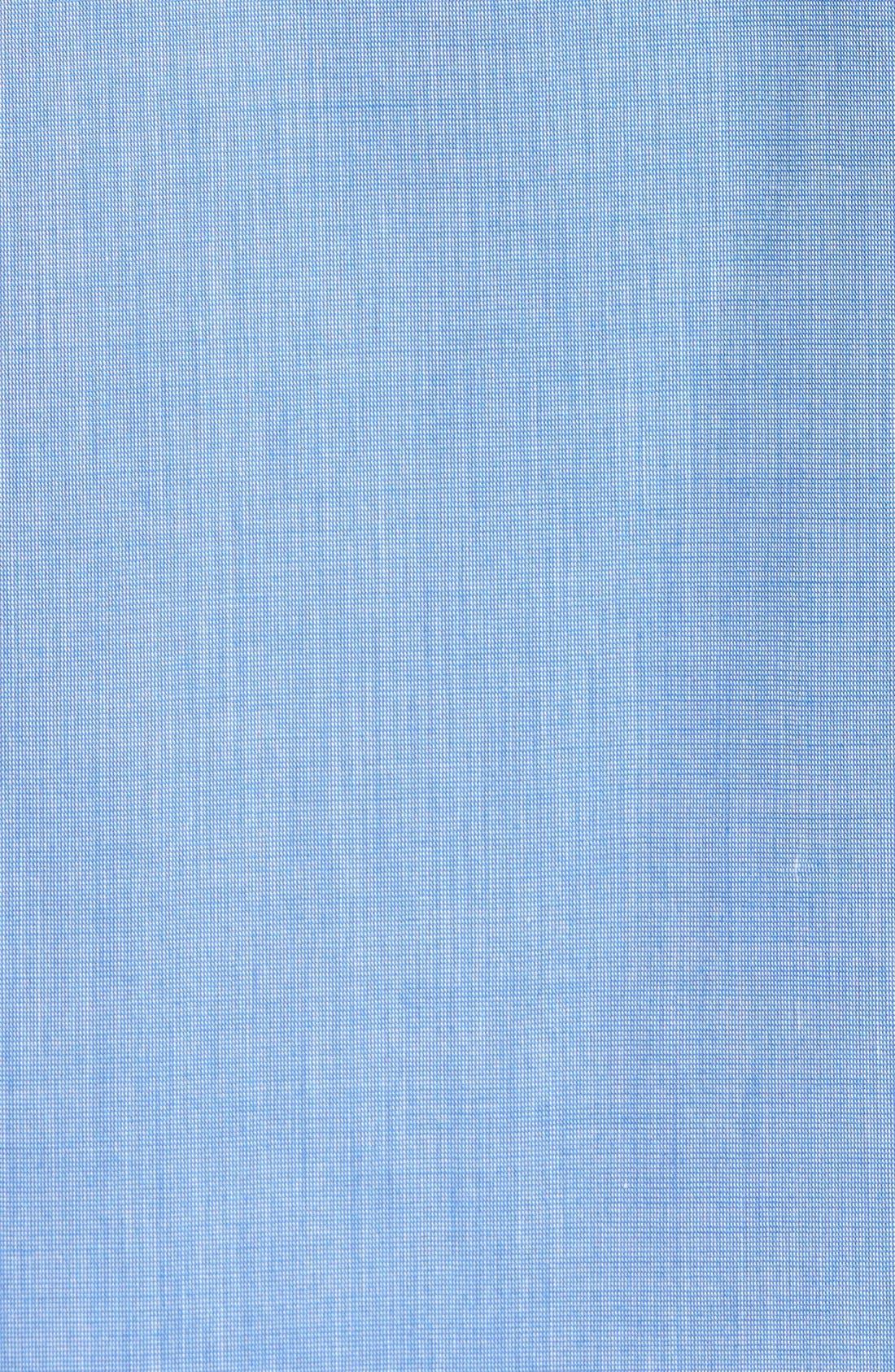 Cotton Blend Pajamas,                             Alternate thumbnail 5, color,                             BLUE