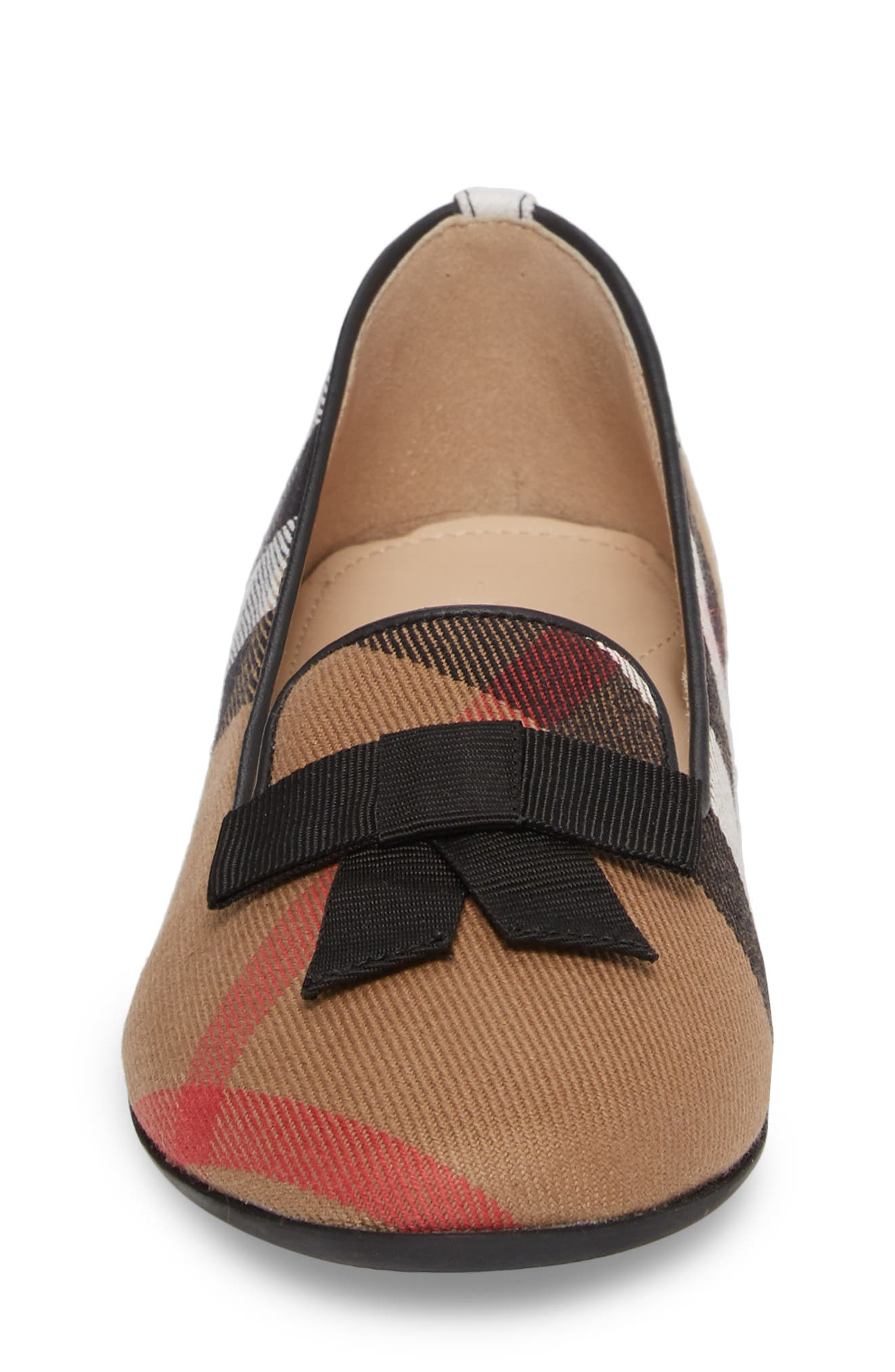 Ally Bow Loafer Flat,                             Alternate thumbnail 4, color,                             231