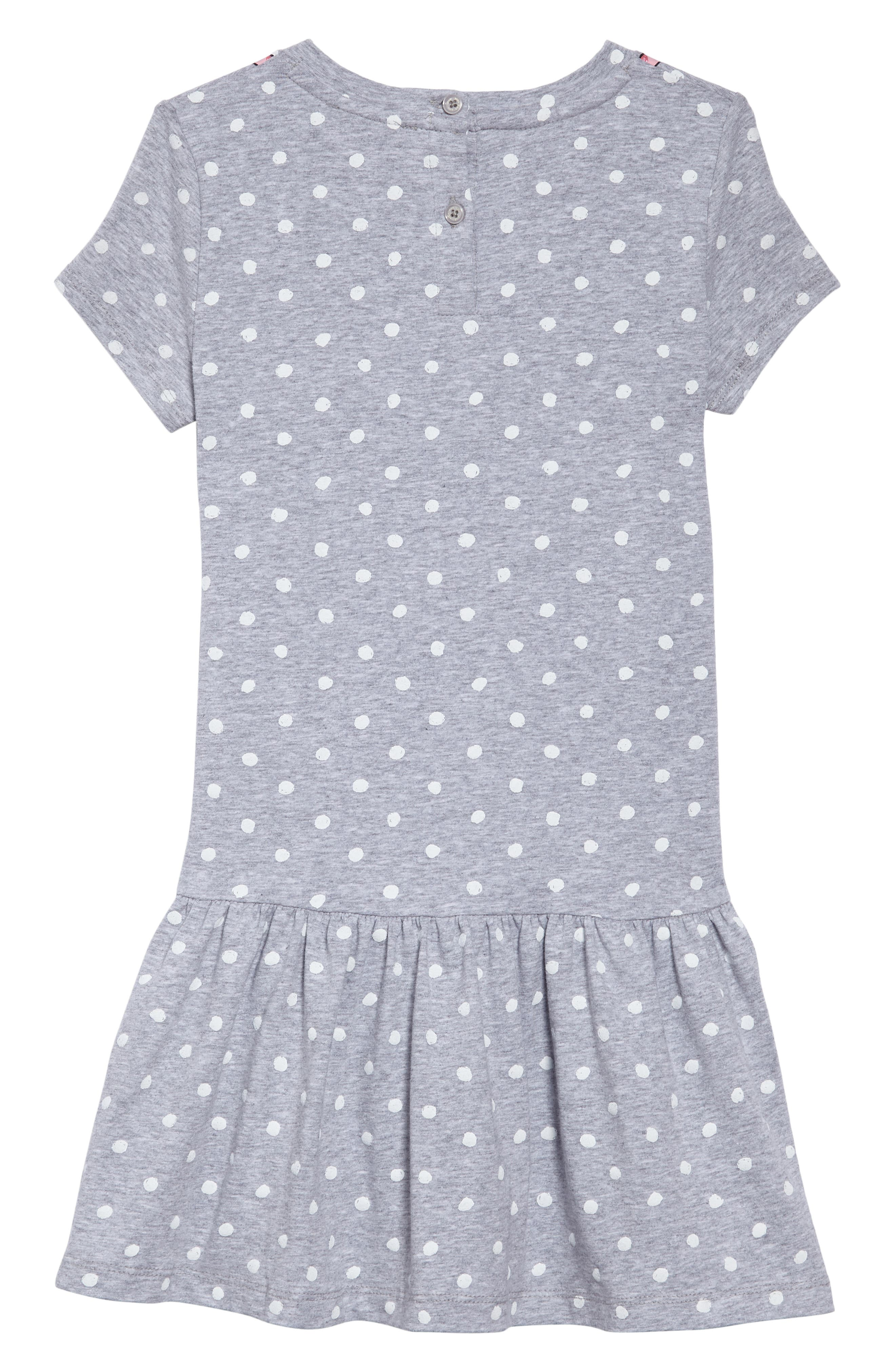 camera polka dot dress,                             Alternate thumbnail 2, color,                             030