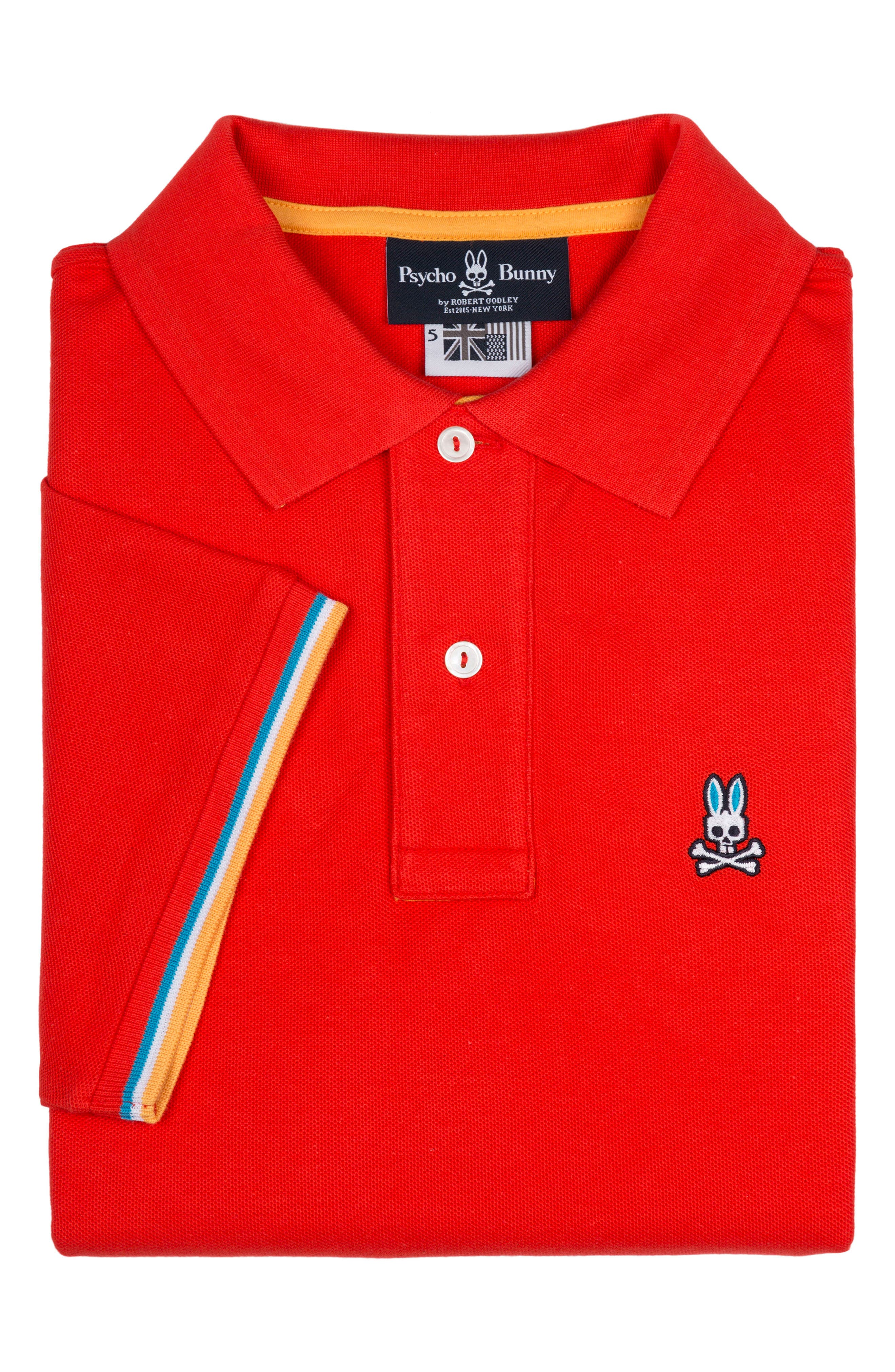 St Croix Polo,                         Main,                         color, STRAWBERRY