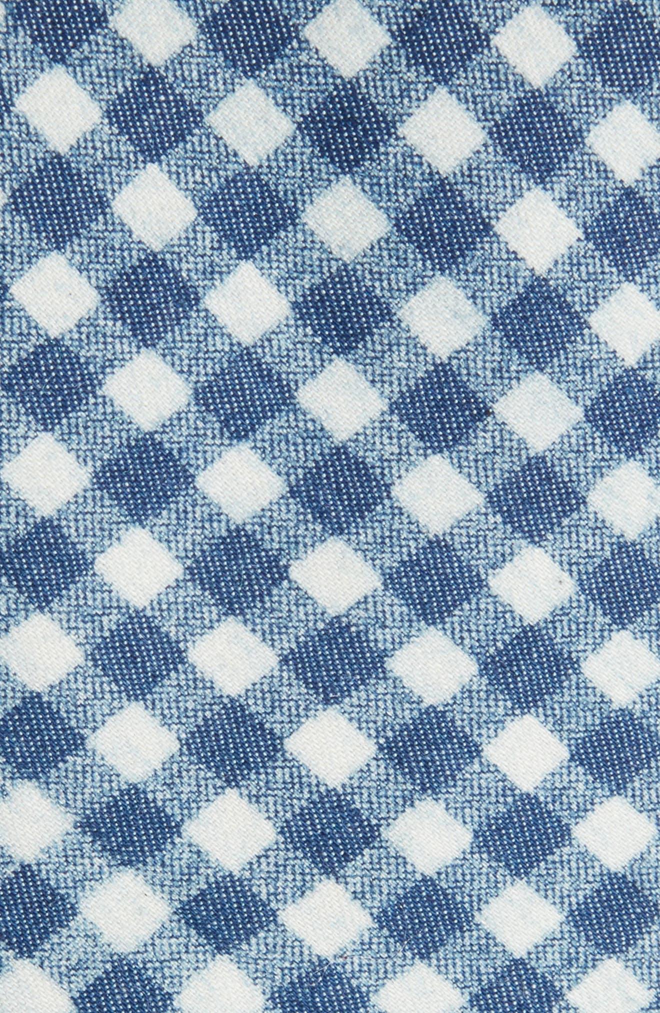 Freeman Check Cotton Skinny Tie,                             Alternate thumbnail 2, color,                             410