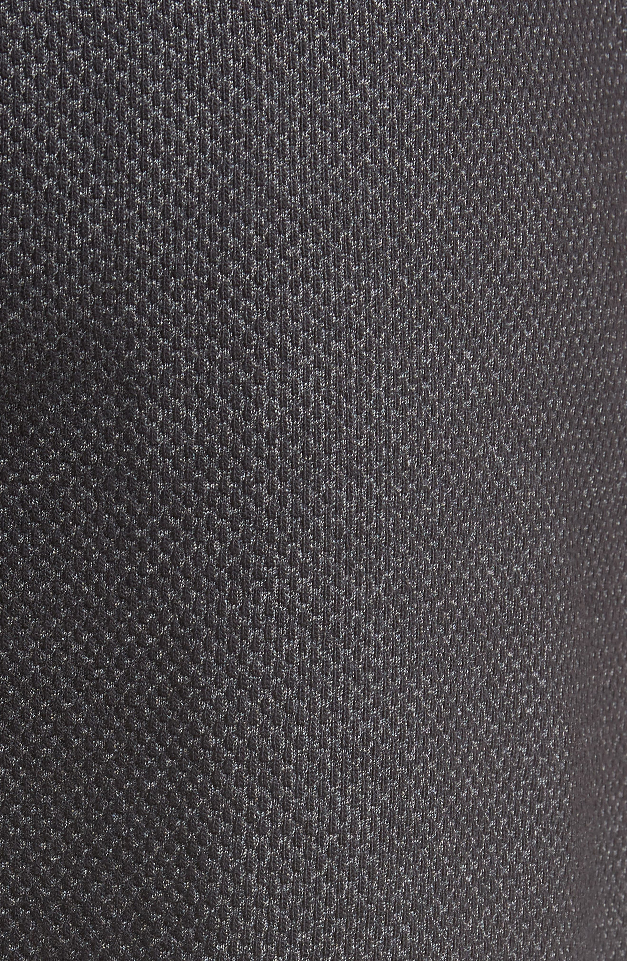 Pursuit Fleece Trim Fit Shorts,                             Alternate thumbnail 5, color,                             BLACK/ BLACK/ STEALTH GRAY