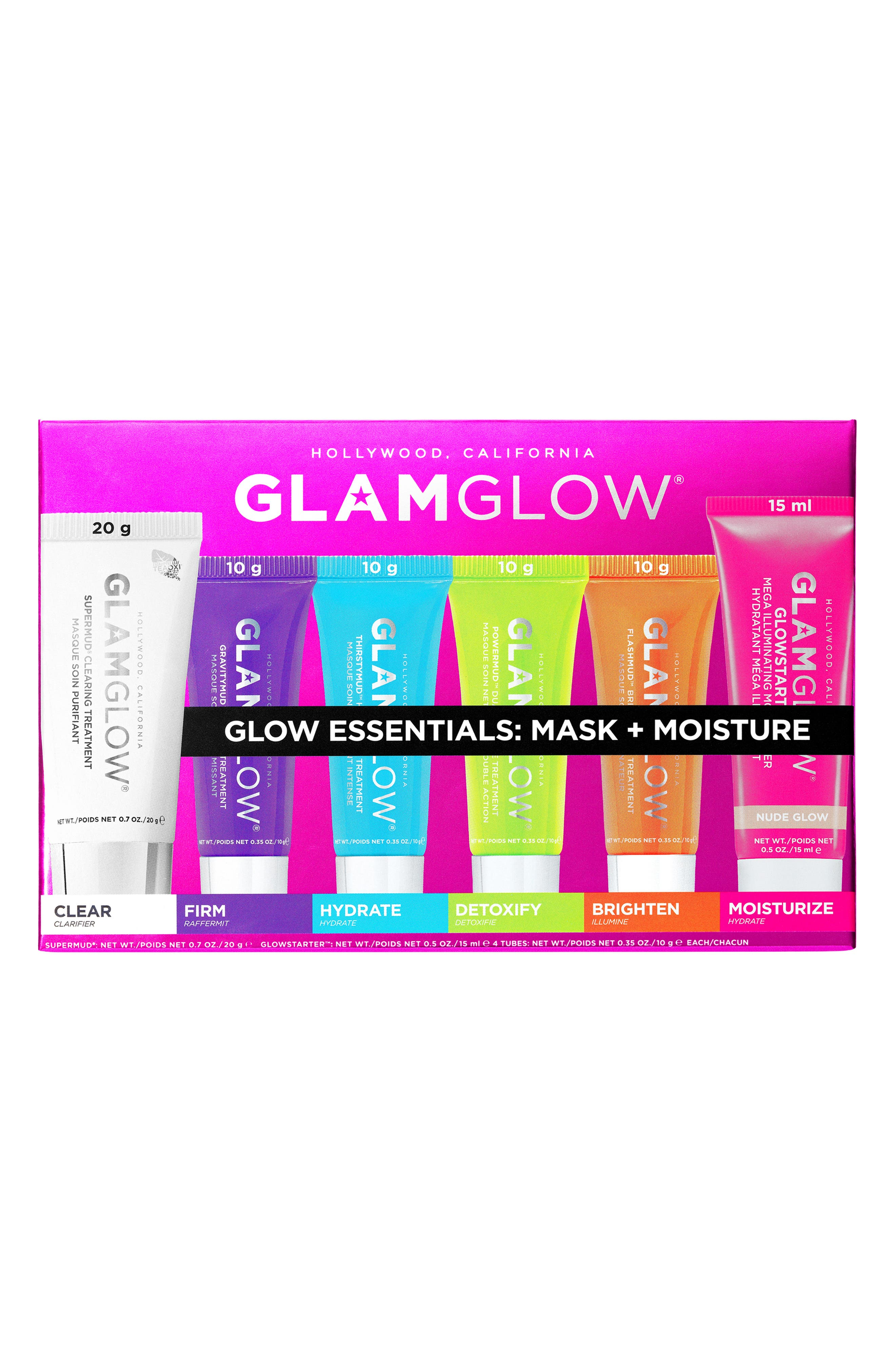 Glow Essentials: Mask + Moisture,                             Alternate thumbnail 2, color,                             NO COLOR