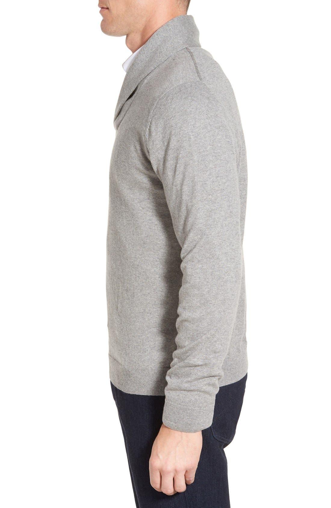Men's Shop Shawl Collar Sweater,                             Alternate thumbnail 14, color,
