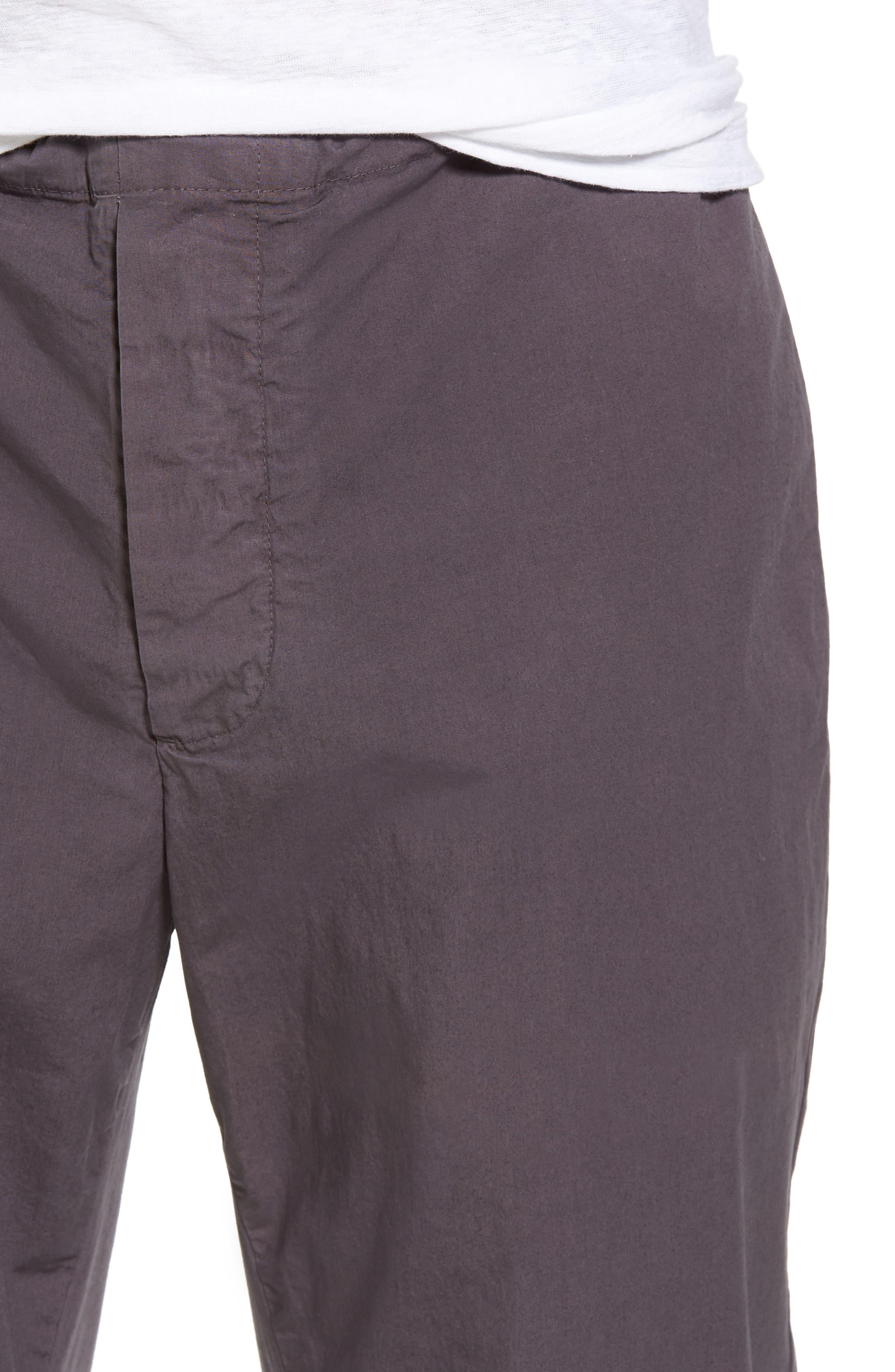 Slim Stretch Poplin Drawcord Pants,                             Alternate thumbnail 14, color,