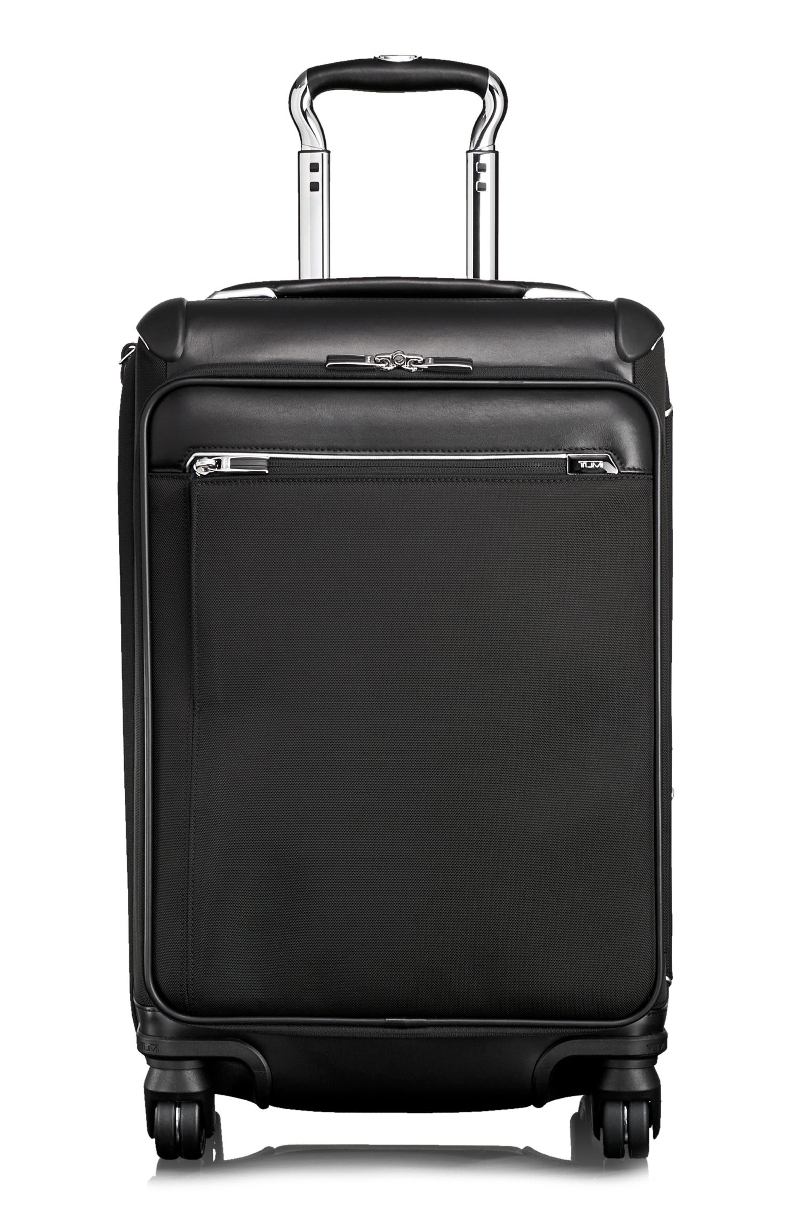 Gatwick 22-Inch International Expandable Carry-On,                         Main,                         color, BLACK