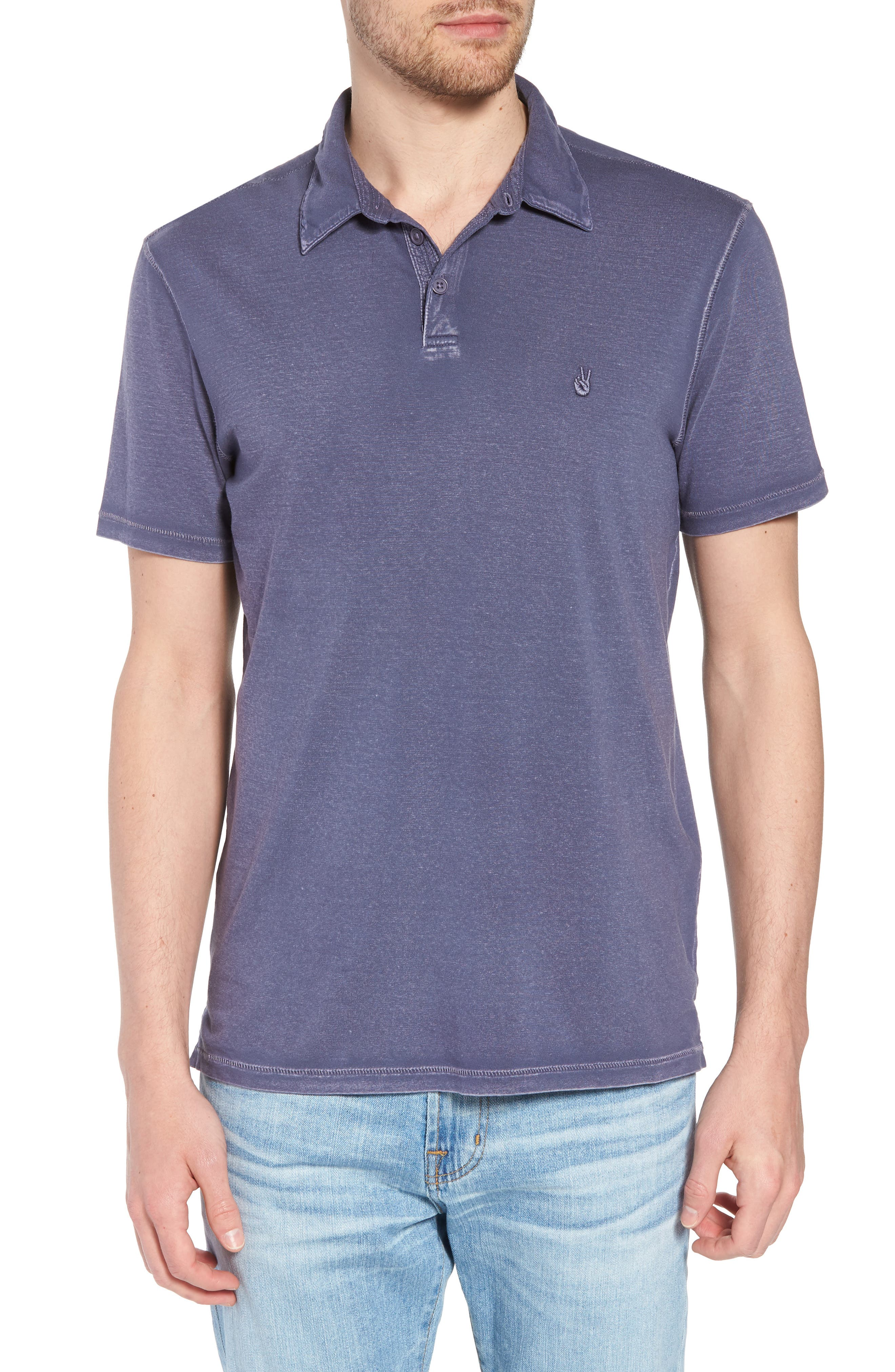 Regular Fit Polo,                         Main,                         color, DRY LAVENDER