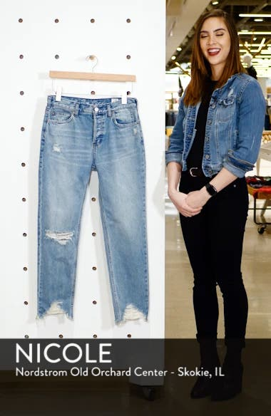 Chewed Up Straight Leg Jeans, sales video thumbnail