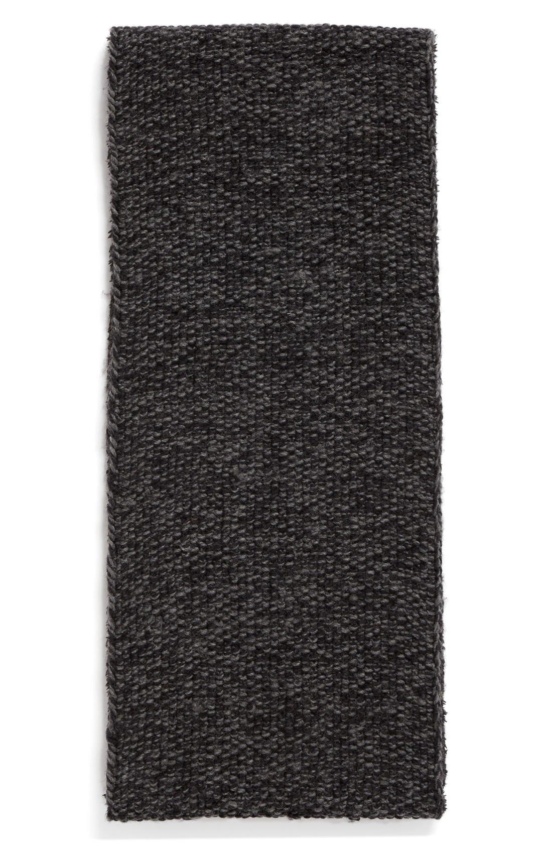 Knit Wool Infinity Scarf,                             Alternate thumbnail 3, color,