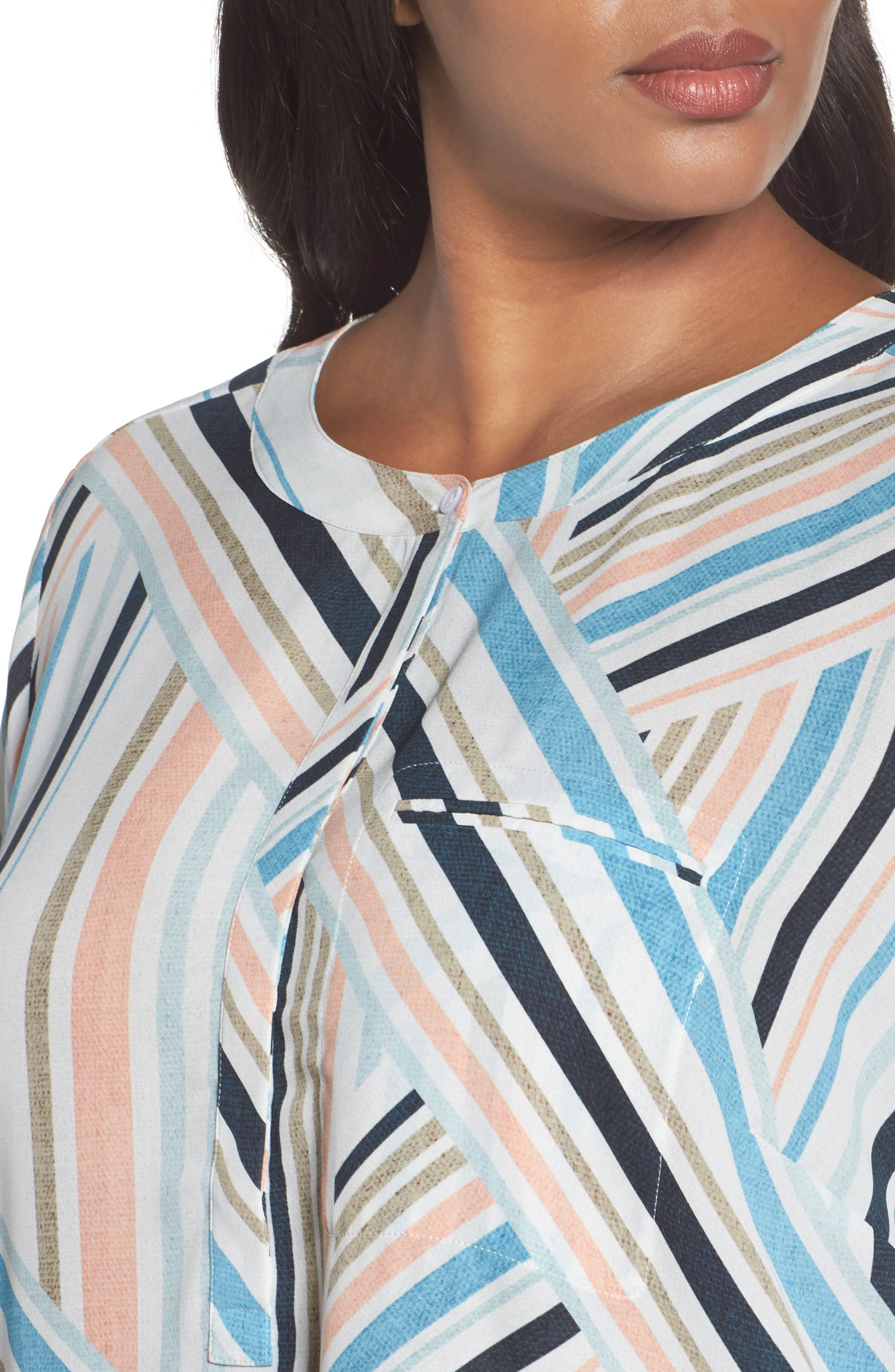 Henley Top,                             Alternate thumbnail 393, color,