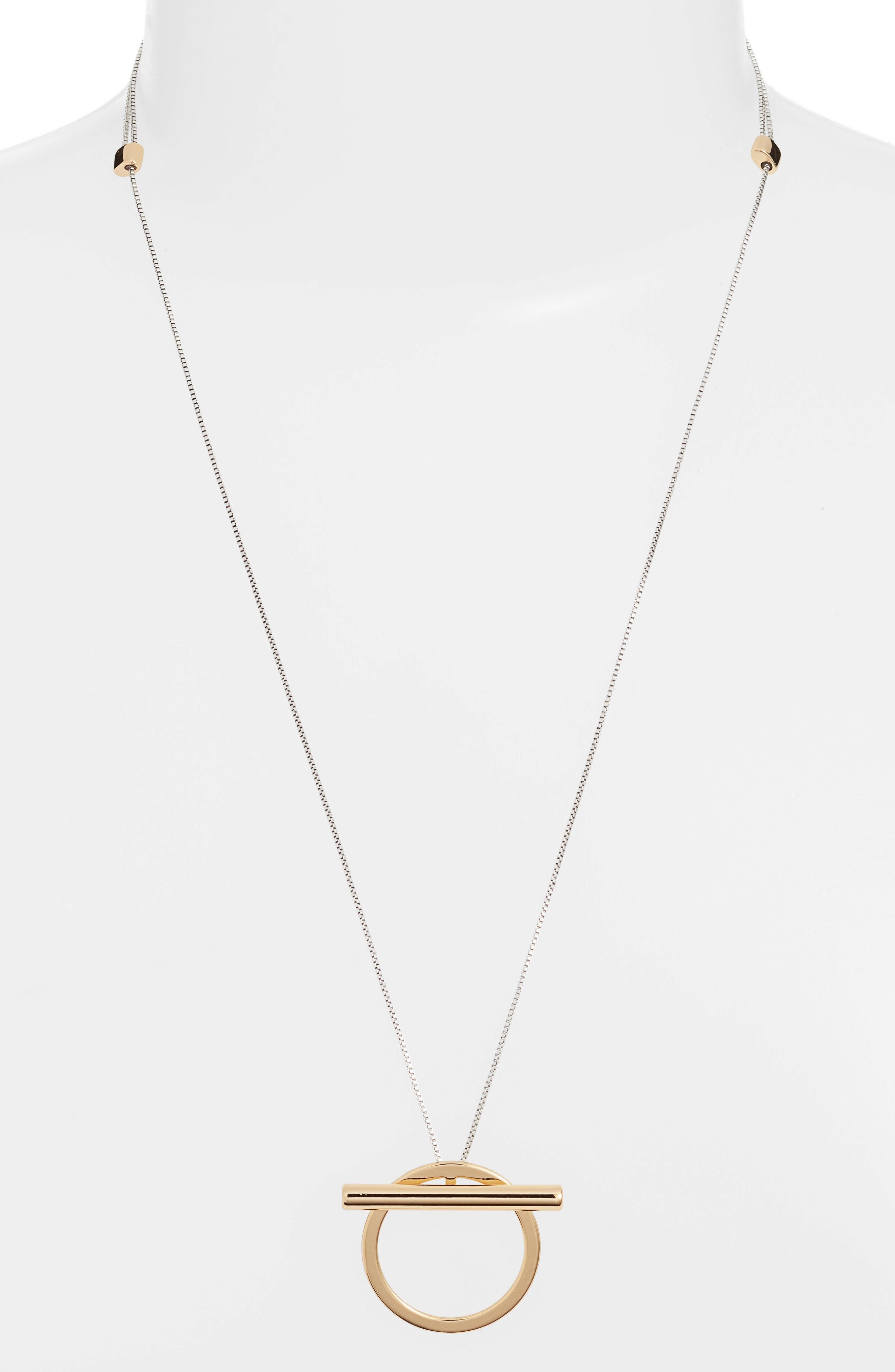JENNY BIRD Trust Pendant Necklace in Two-Tone