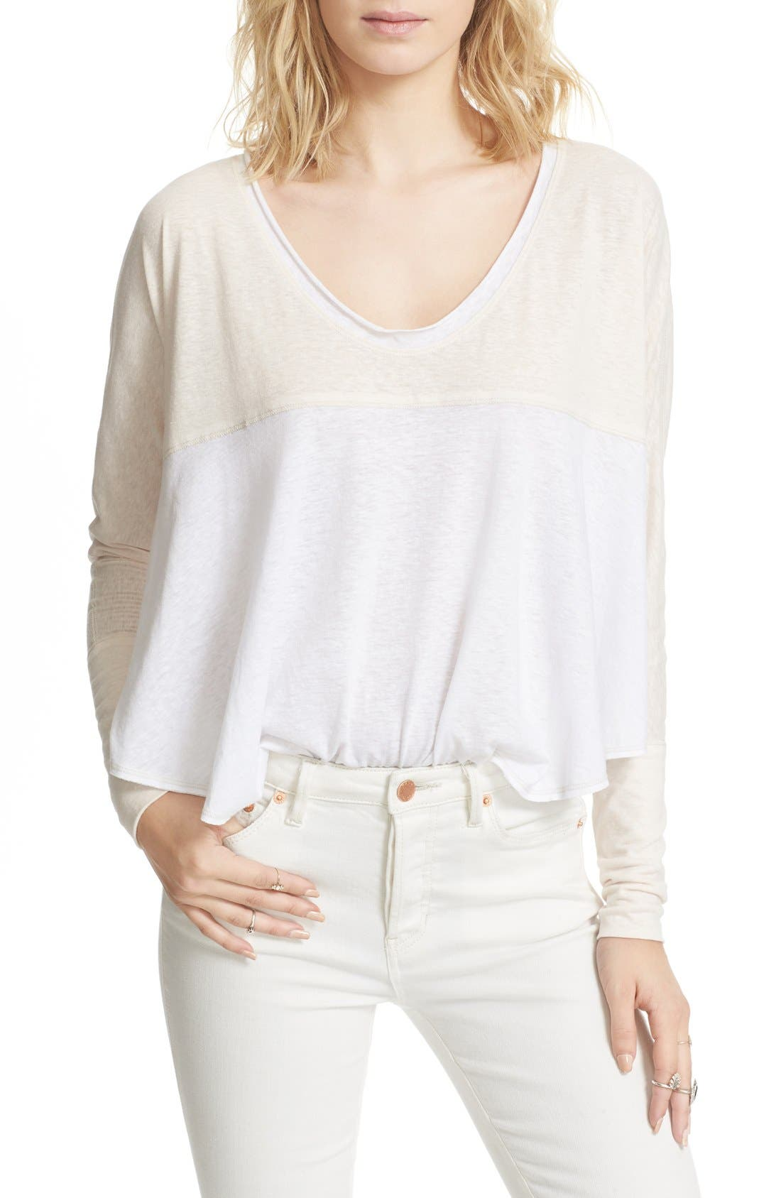 We the Free by Free People Friday Feelin Tee,                             Alternate thumbnail 20, color,
