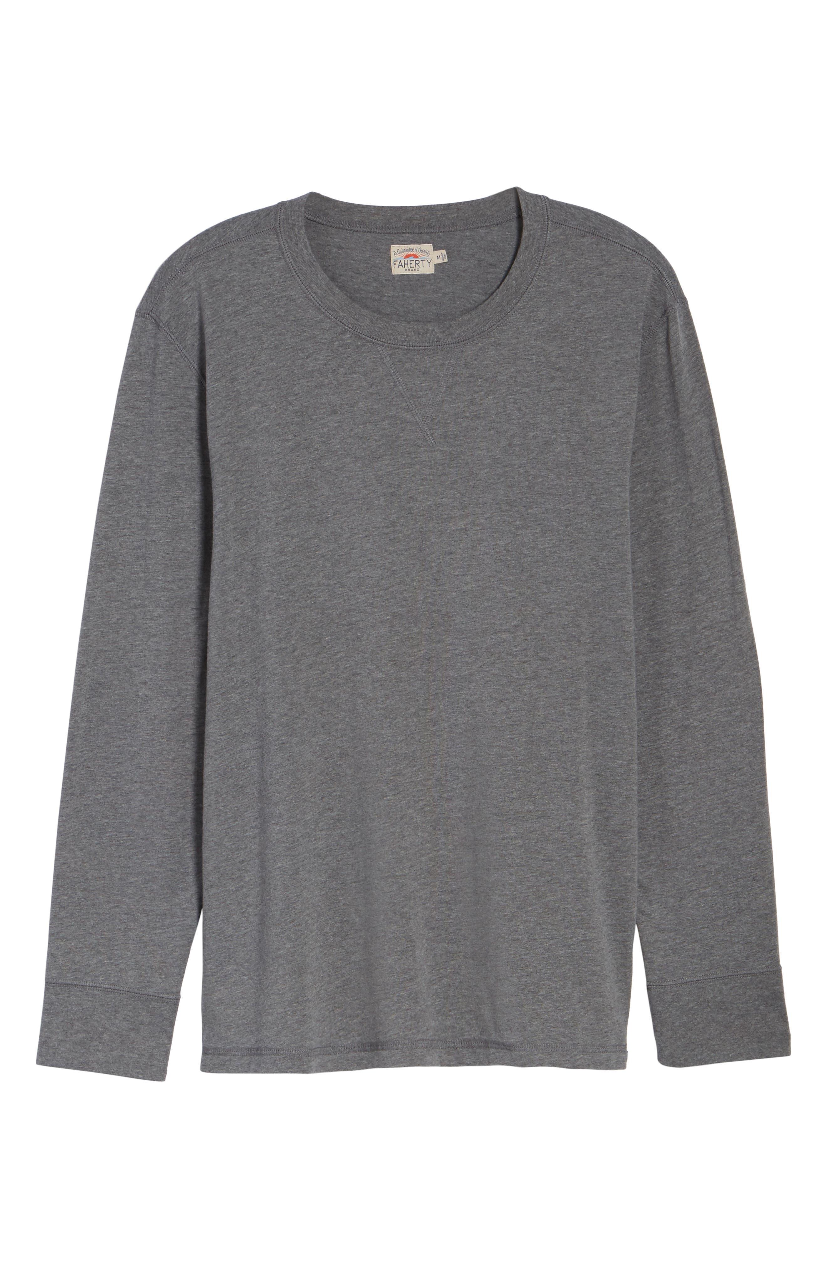 Notch Long Sleeve T-Shirt,                             Alternate thumbnail 11, color,
