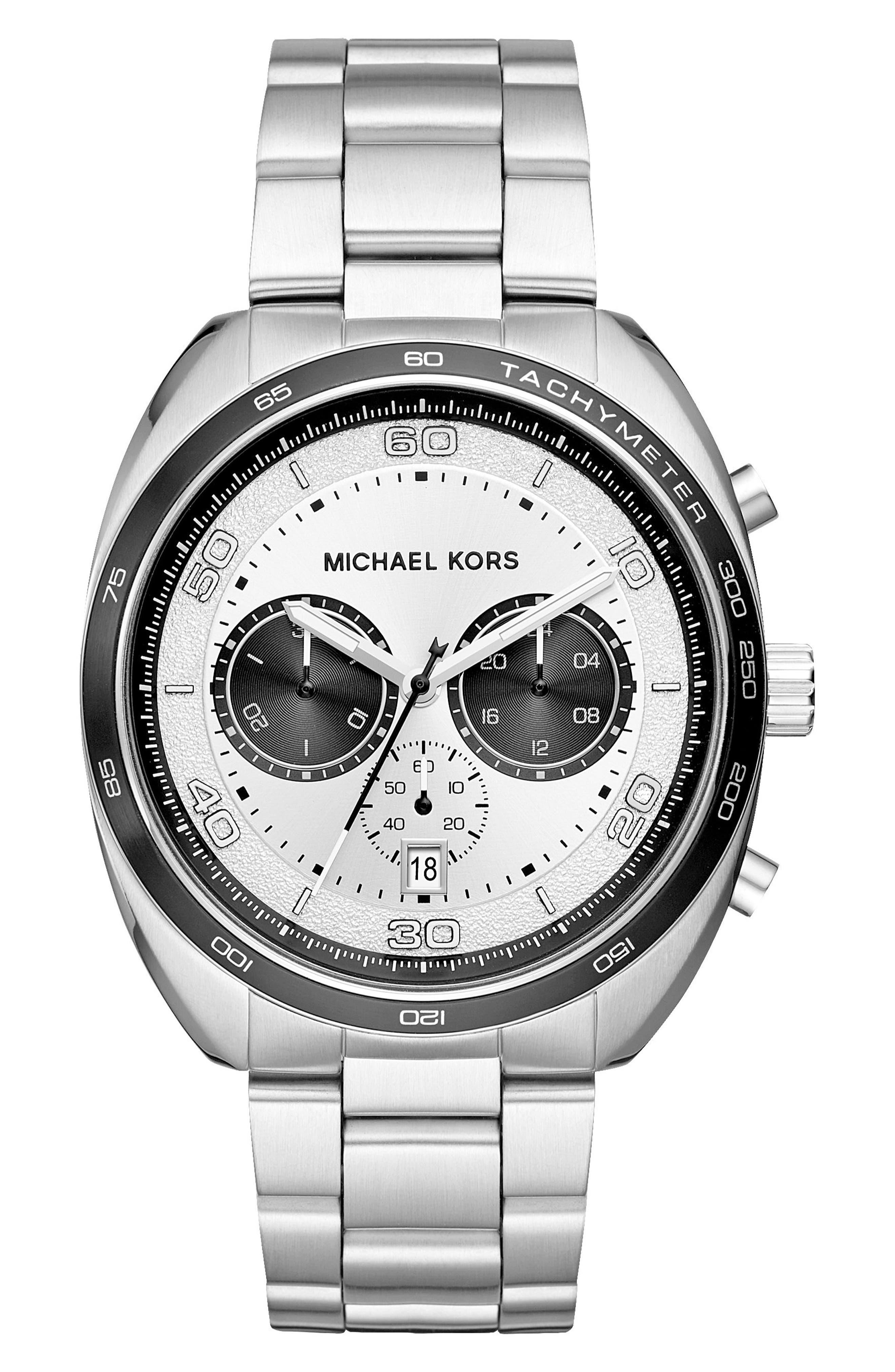 Dane Chronograph Bracelet Watch, 43mm,                             Main thumbnail 2, color,