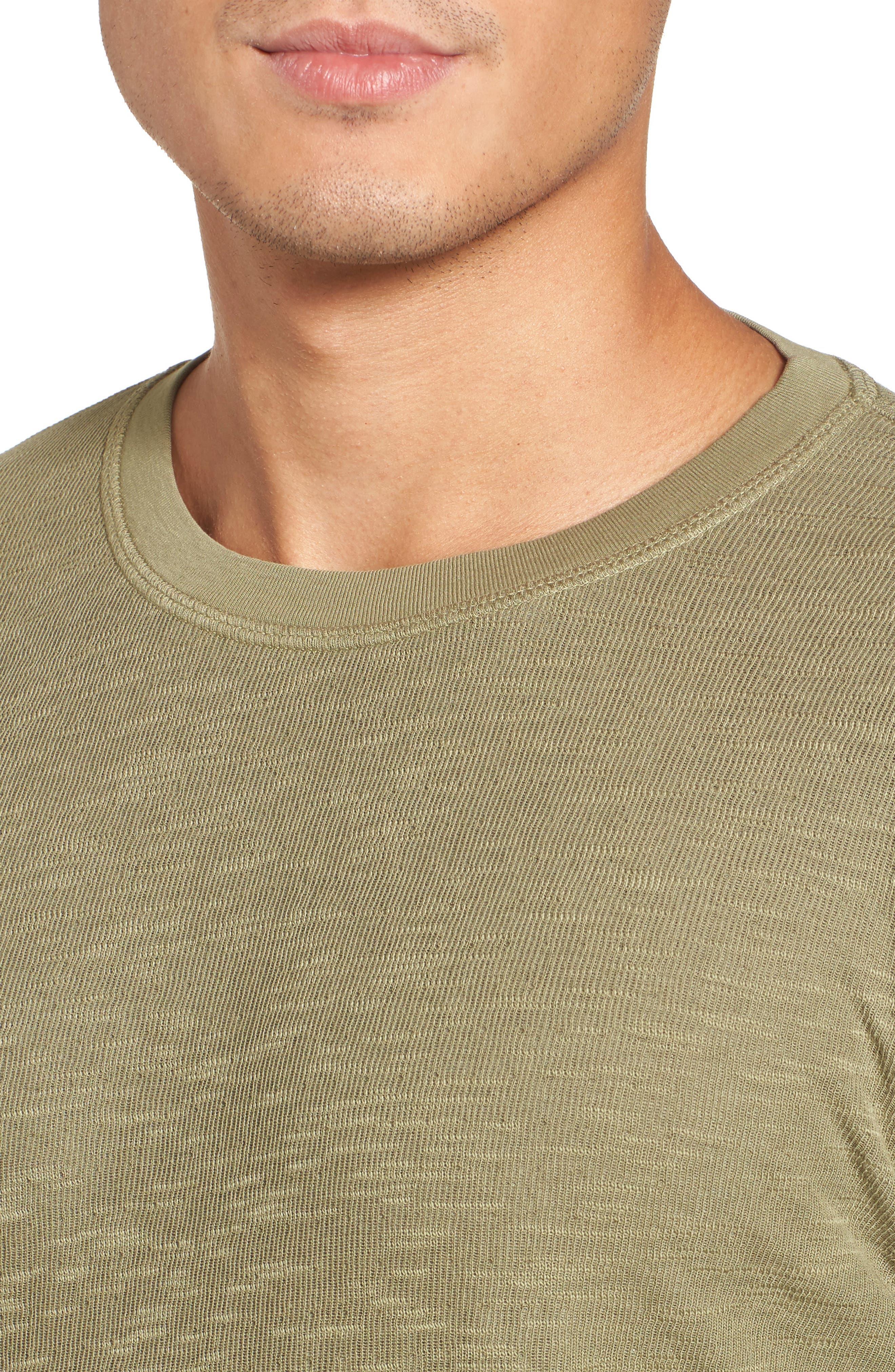 Double Layer Slim Crewneck T-Shirt,                             Alternate thumbnail 26, color,