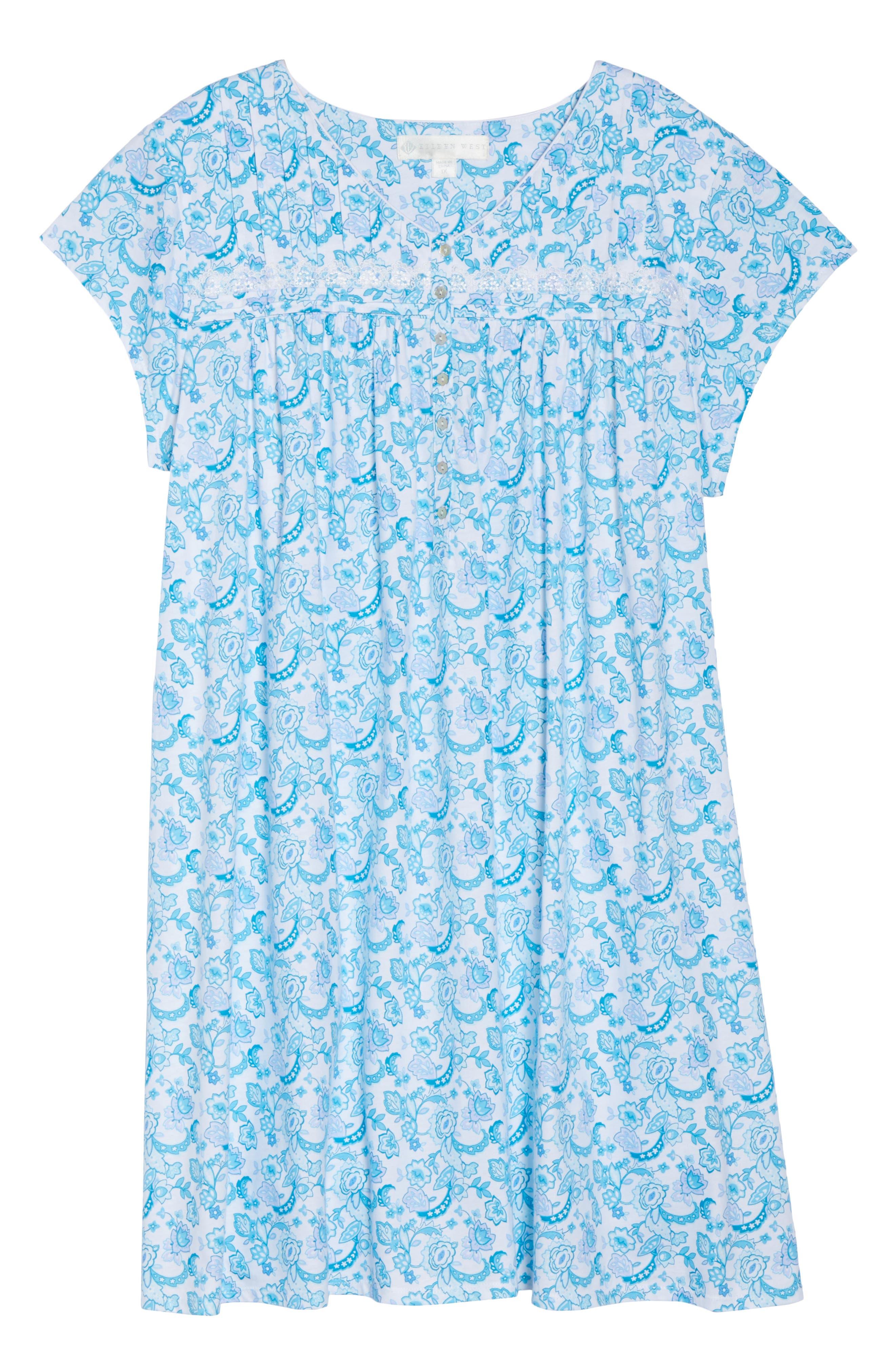 Short Nightgown,                             Alternate thumbnail 18, color,