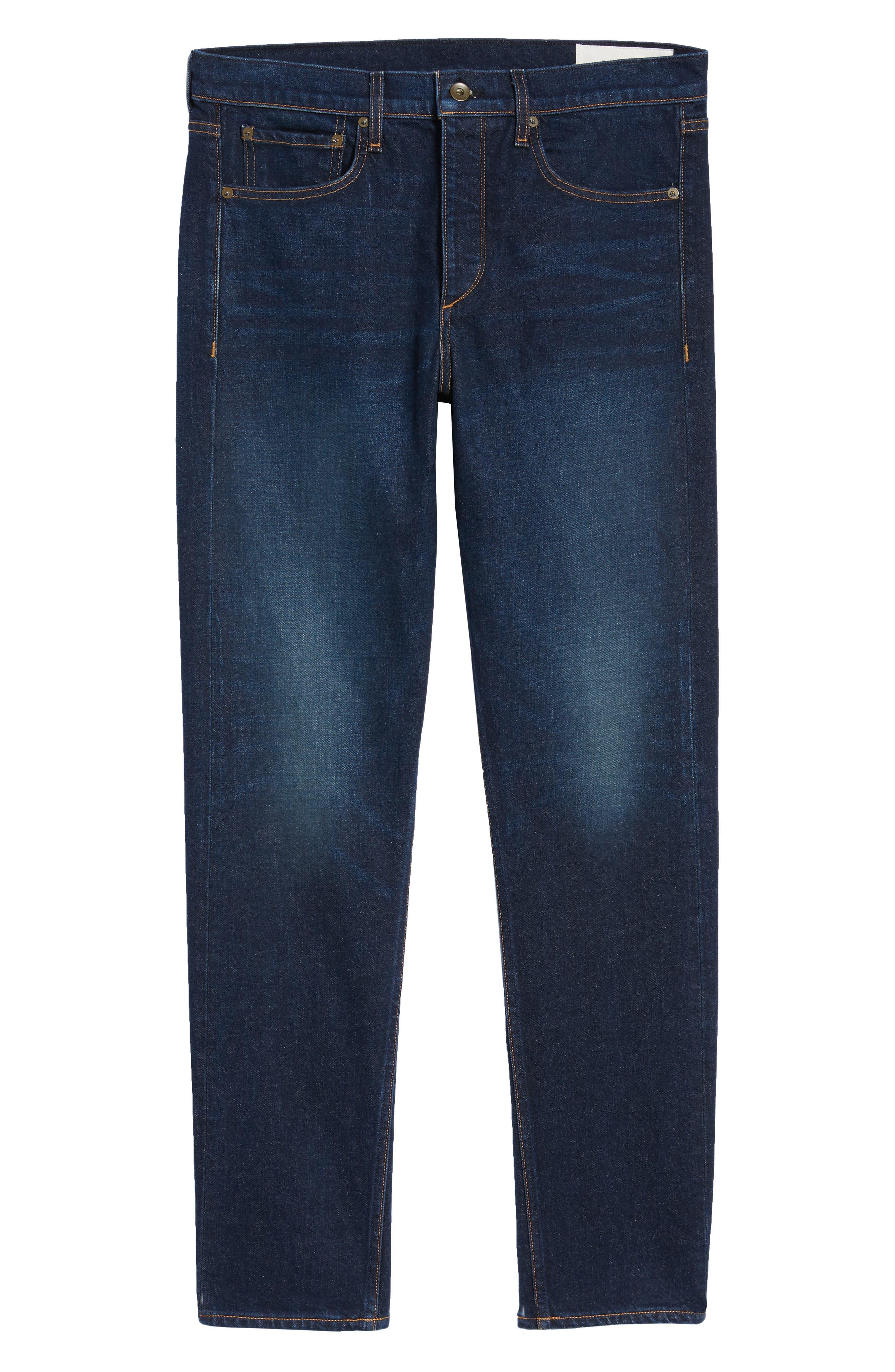 Fit 3 Straight Leg Jeans,                             Alternate thumbnail 6, color,                             ACE