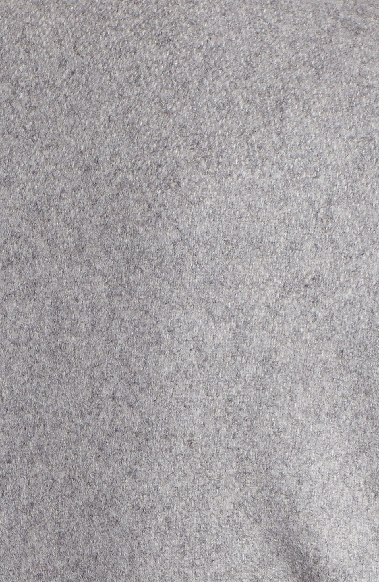 Wool Blend Long Wrap Coat,                             Alternate thumbnail 6, color,                             050