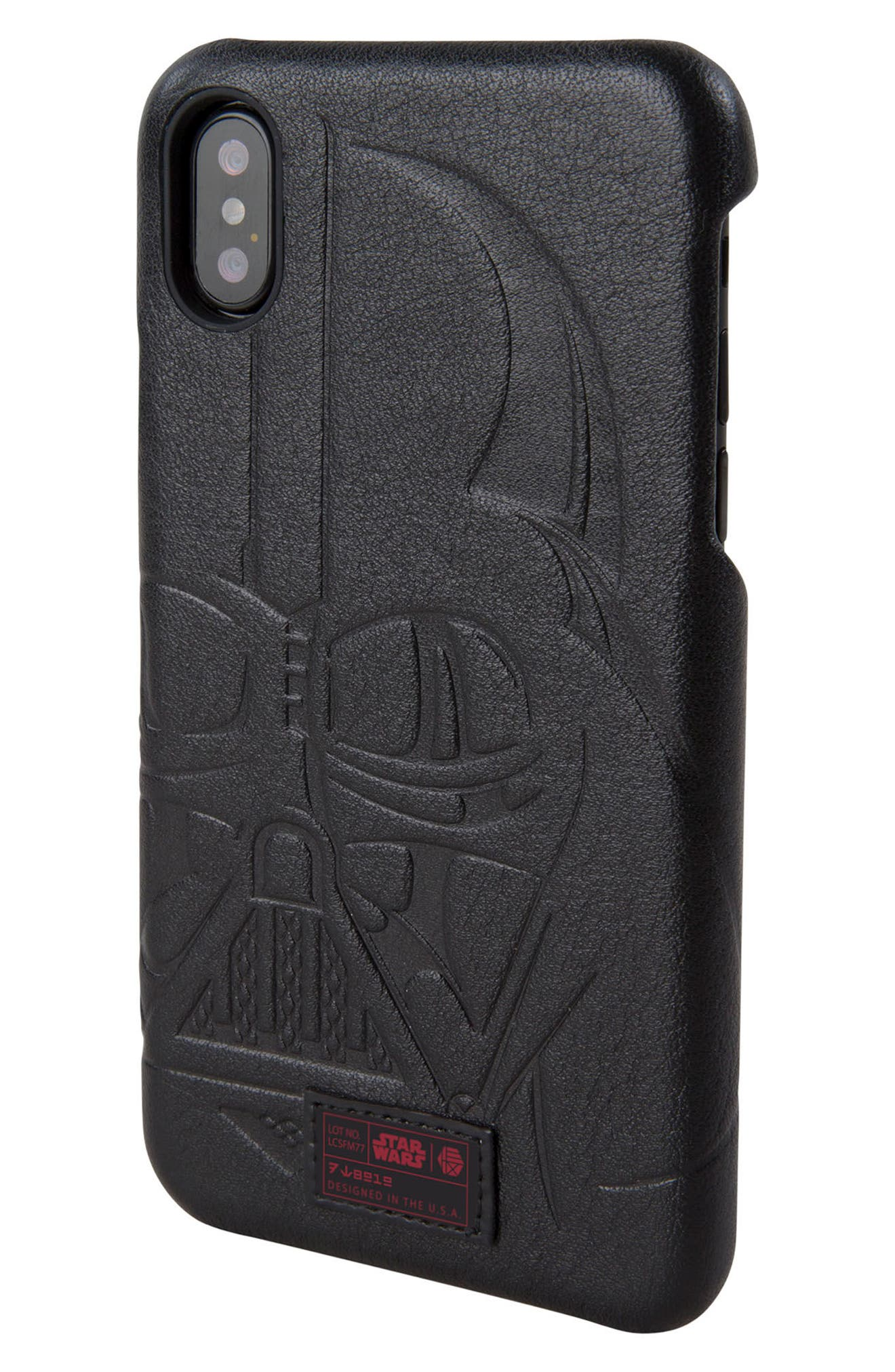 Darth Vader iPhone X Case,                             Alternate thumbnail 2, color,                             004