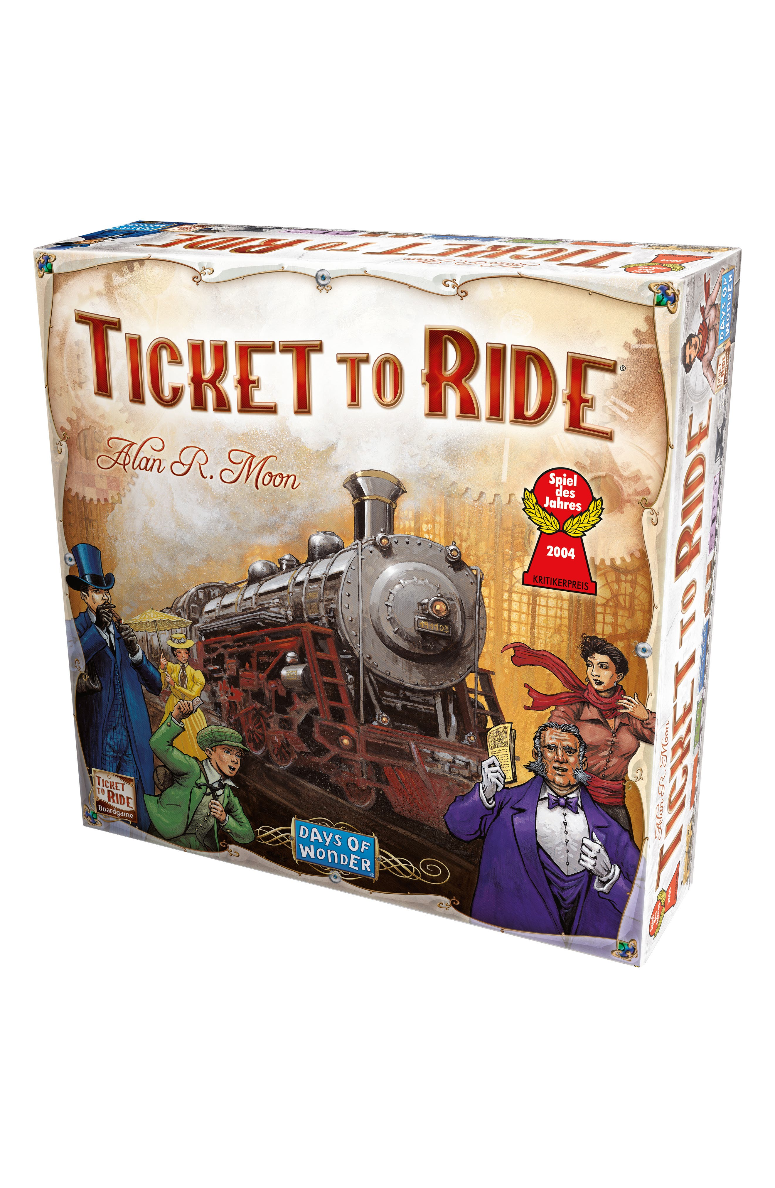Asmodee Ticket To Ride First Journey Board Game