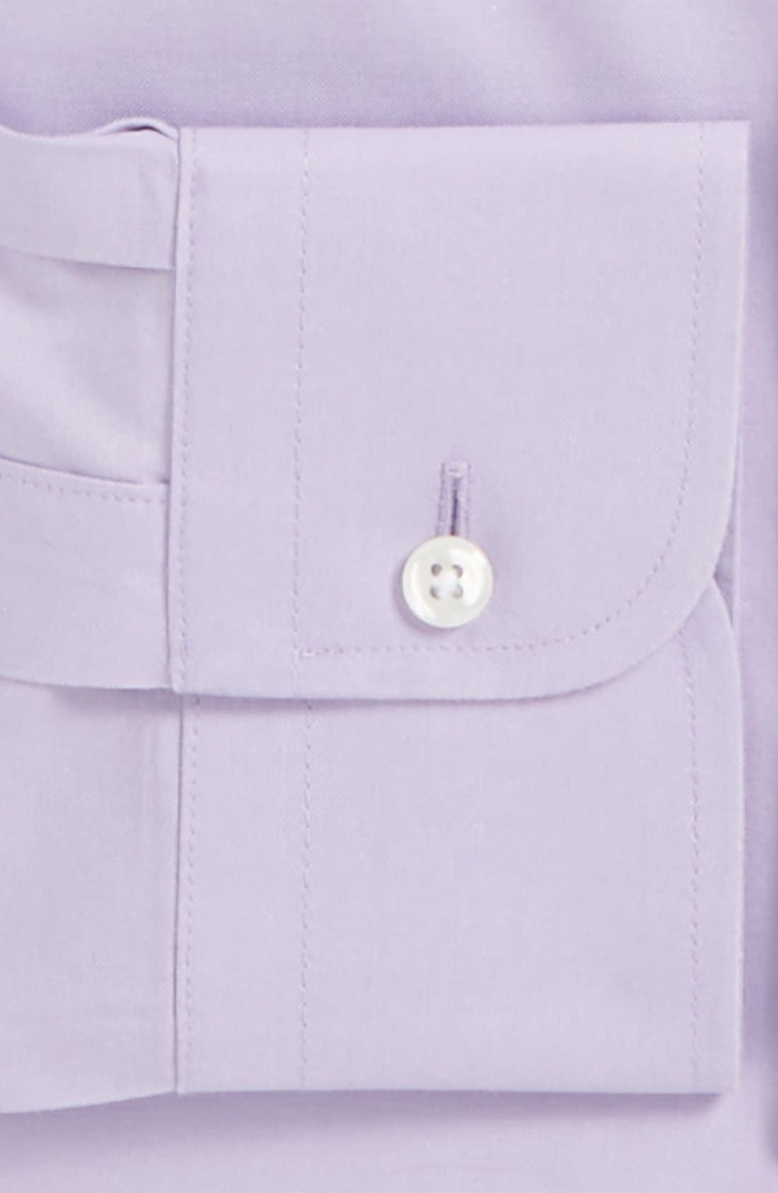 Smartcare<sup>™</sup> Traditional Fit Pinpoint Dress Shirt,                             Alternate thumbnail 66, color,