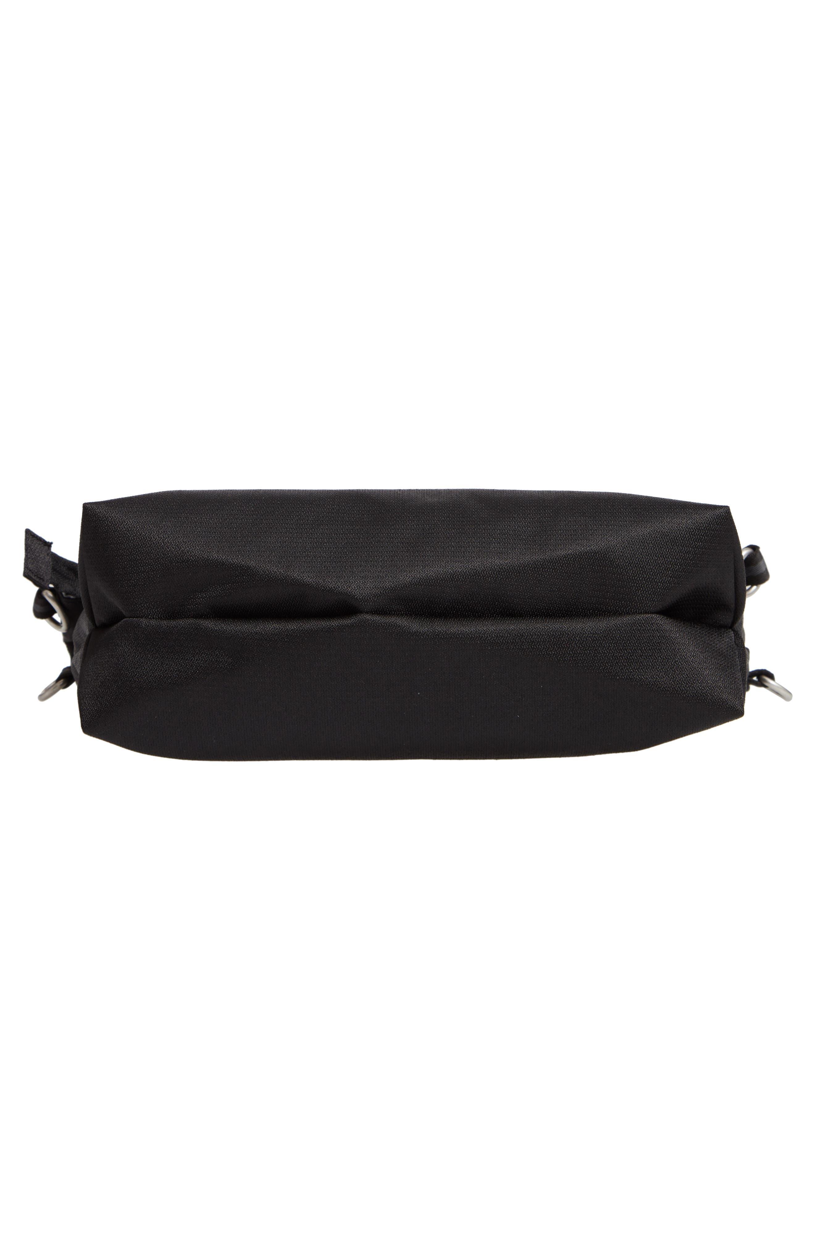 Vale RFID Crossbody Bag,                             Alternate thumbnail 7, color,                             BLACK/ BLACK