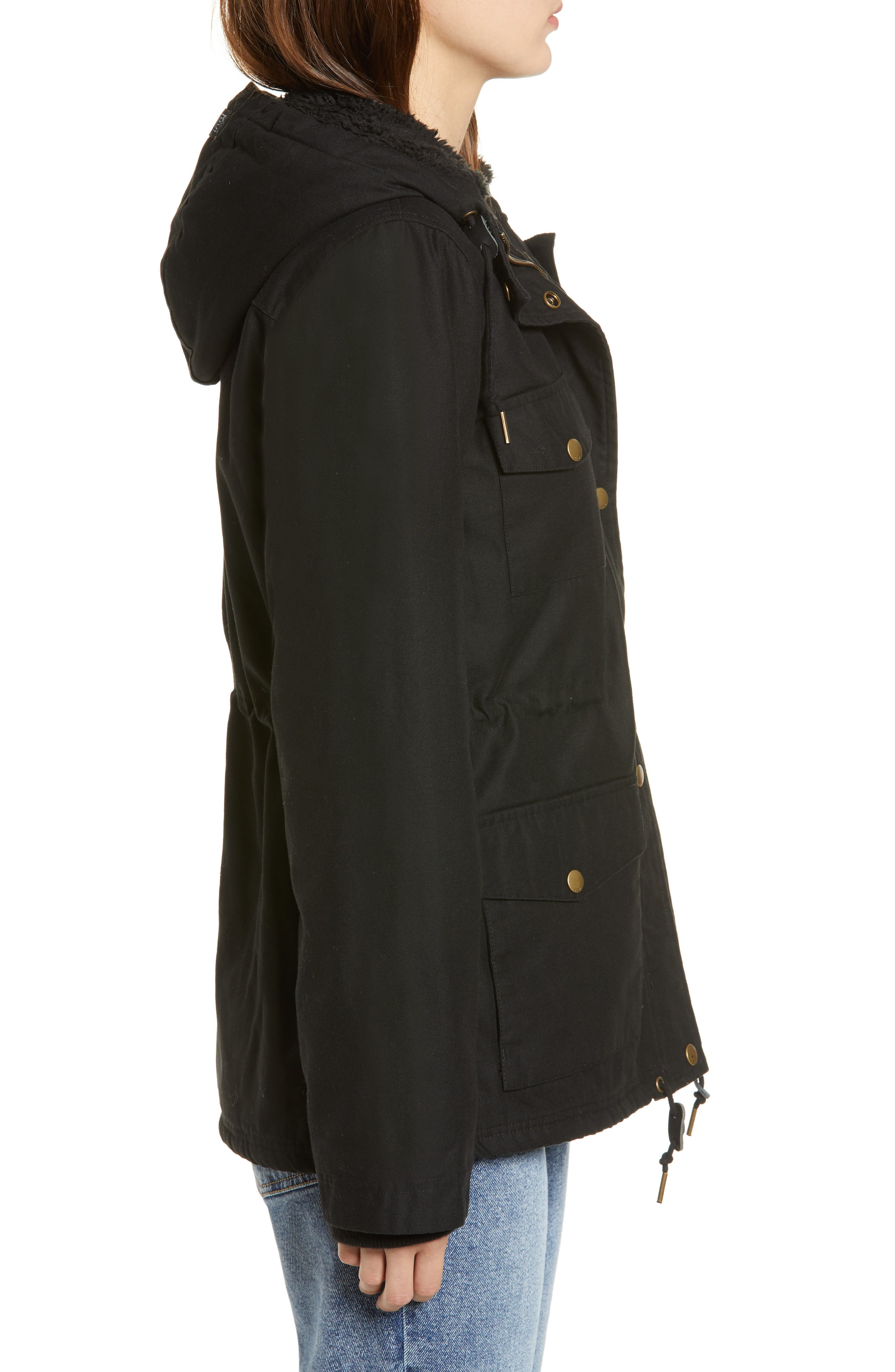 Pistol Water-Resistant Jacket,                             Alternate thumbnail 3, color,                             001