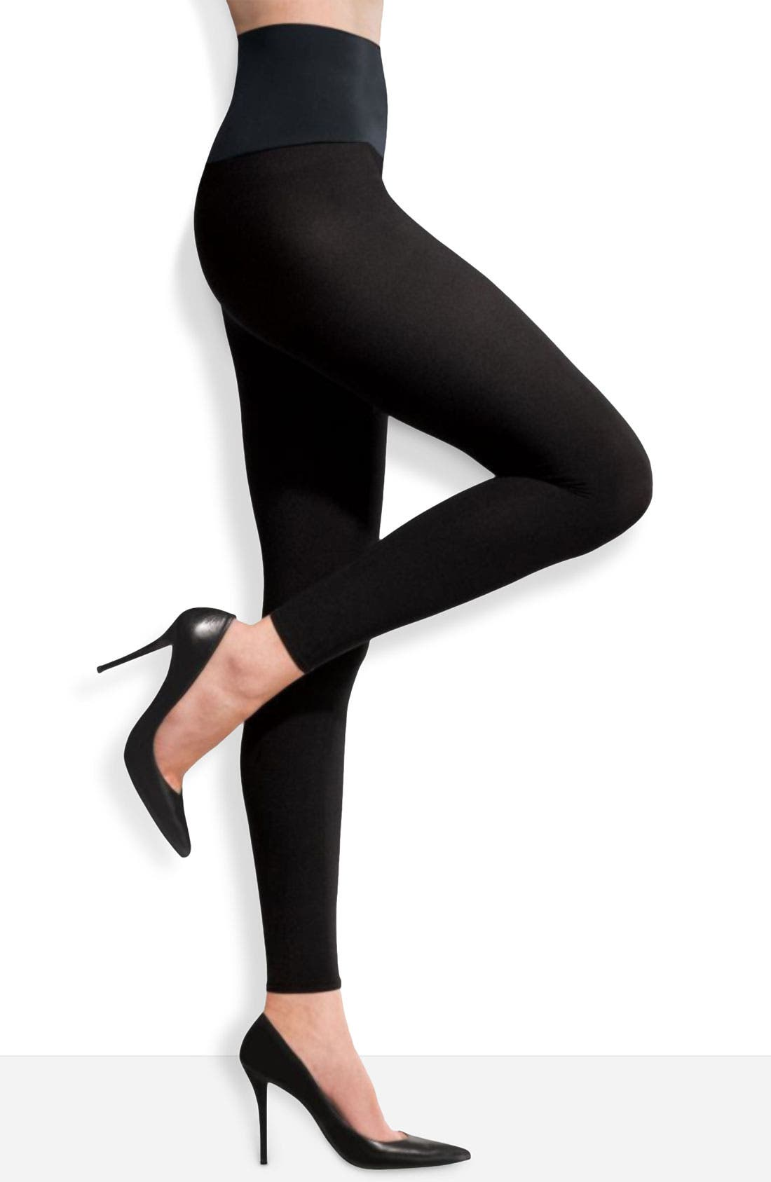 Matte Footless Tights,                             Main thumbnail 2, color,