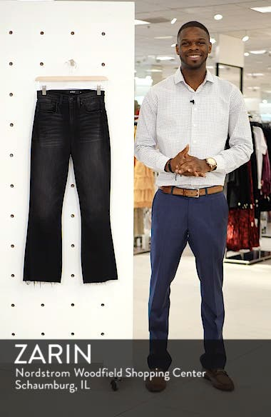 Holly High Waist Crop Flare Jeans, sales video thumbnail