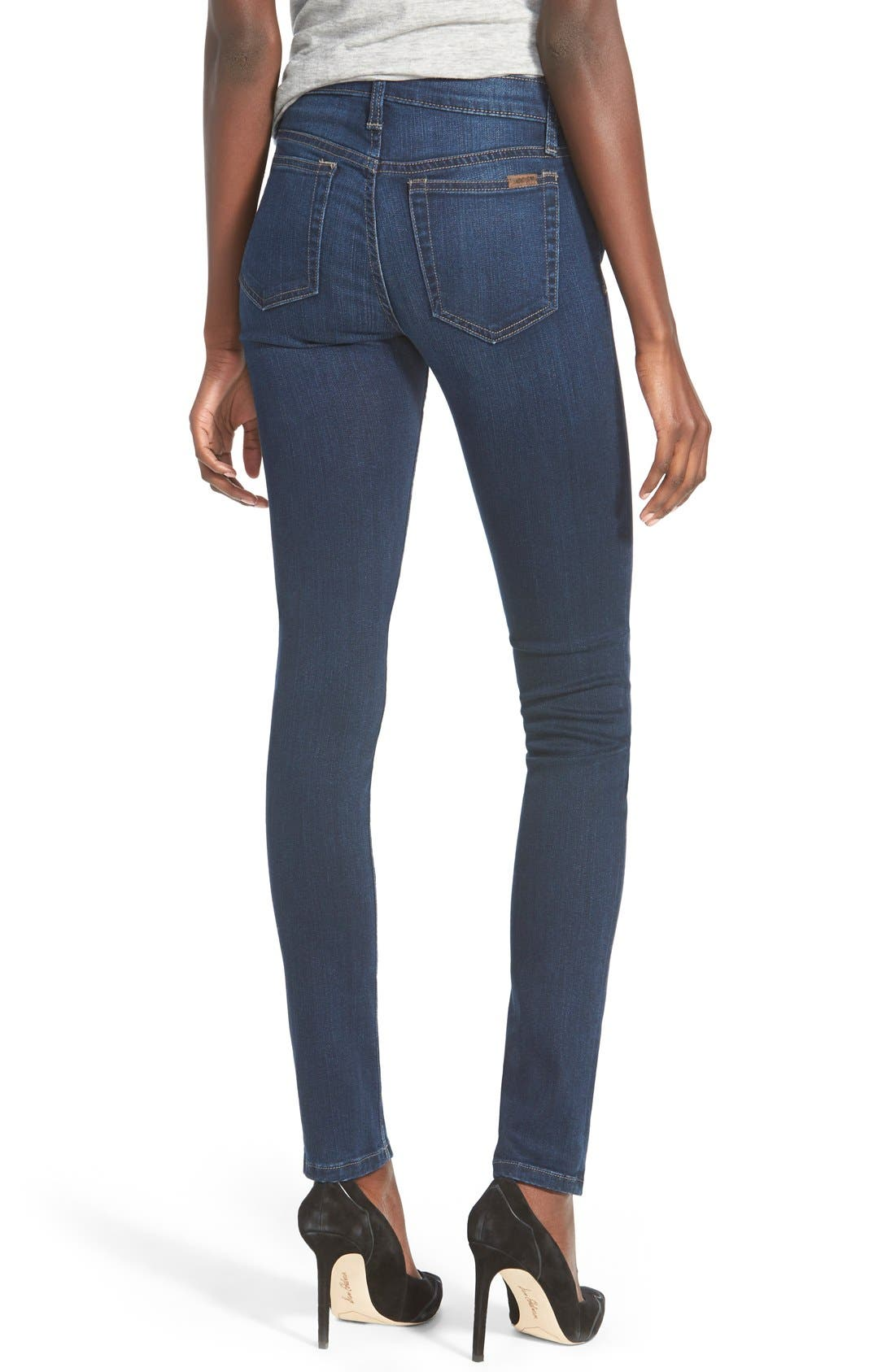 Icon Skinny Jeans,                             Alternate thumbnail 3, color,                             410