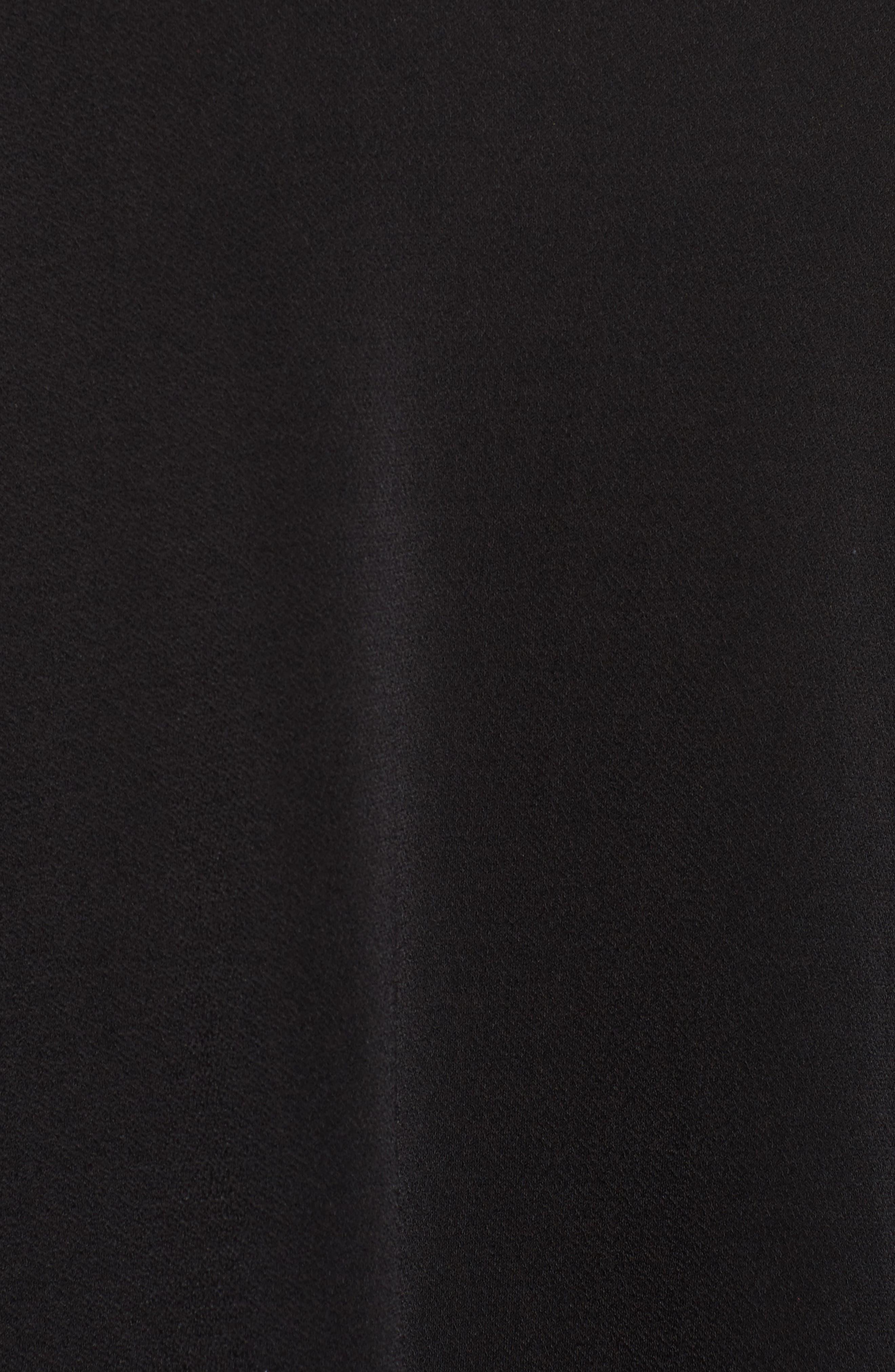 Bell Sleeve A-Line Choker Dress,                             Alternate thumbnail 5, color,                             001