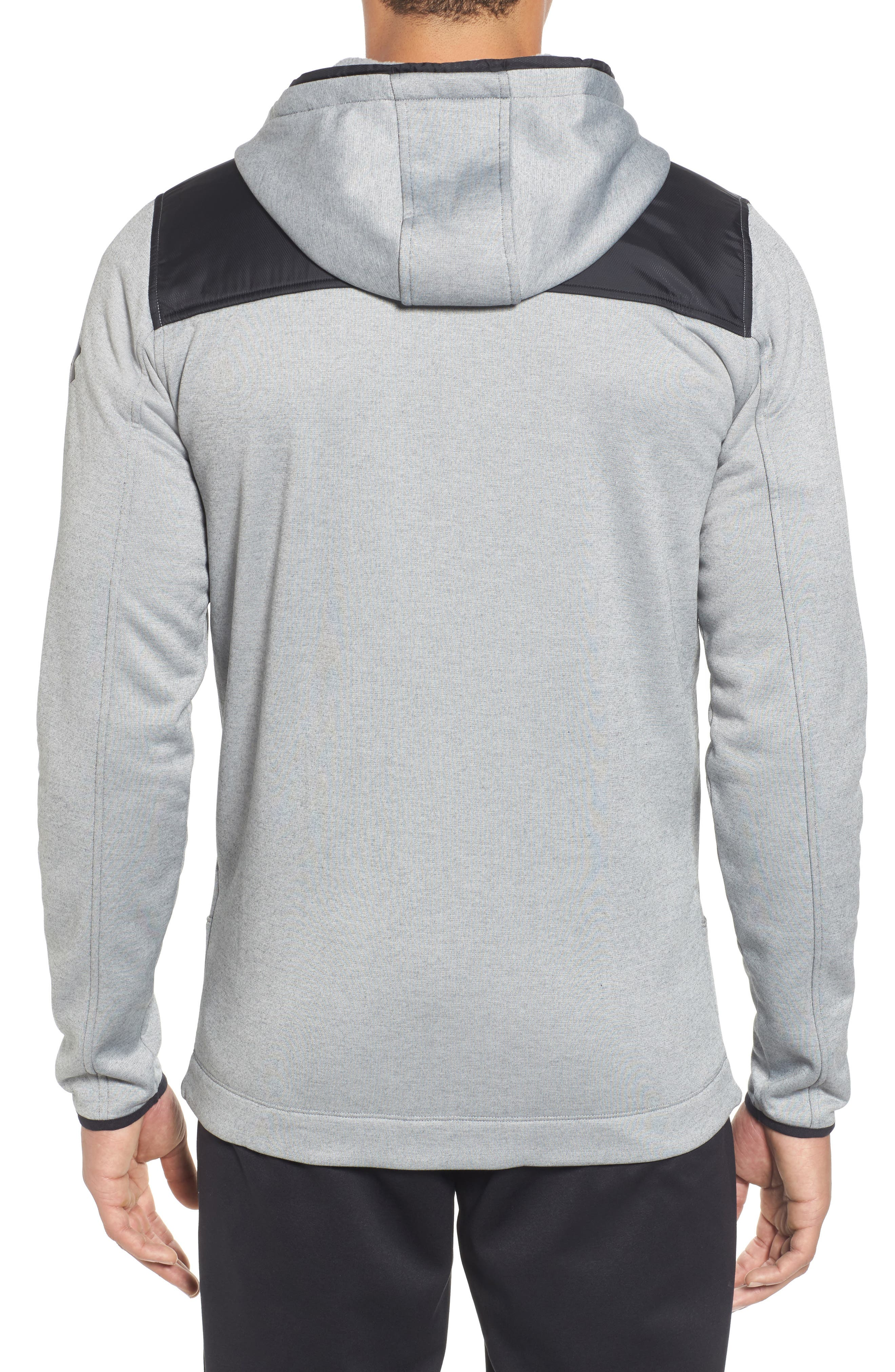 Courtside Stealth Zip Hoodie,                             Alternate thumbnail 6, color,