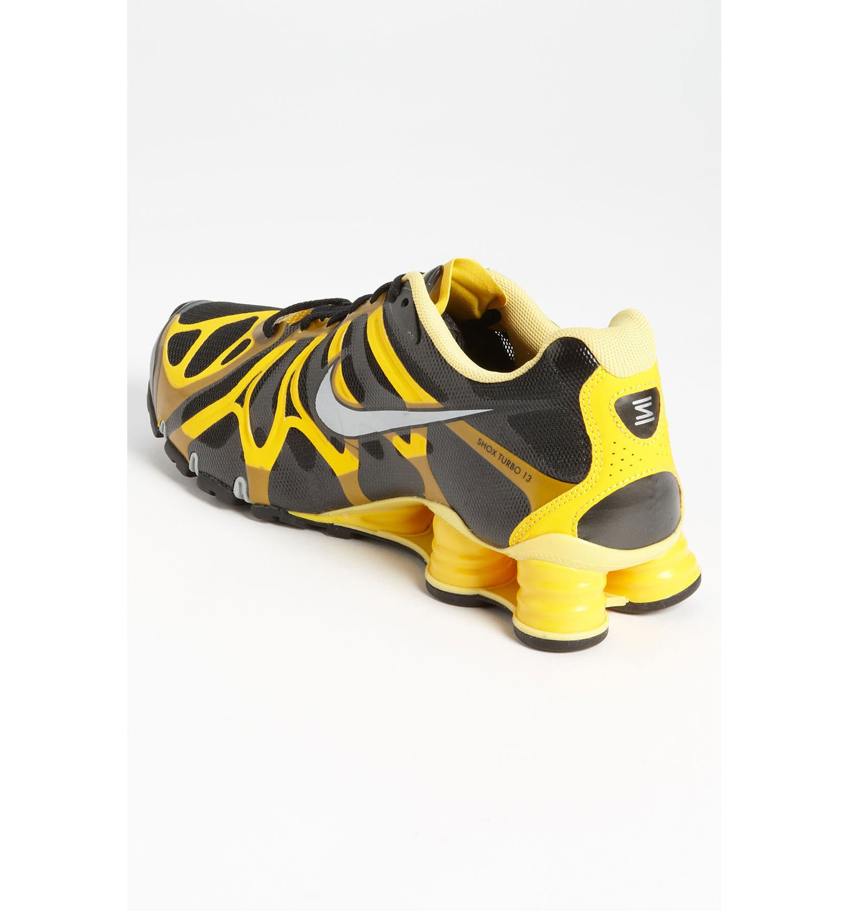 fd95091d44b4b7 Nike  LIVESTRONG Shox Turbo+ 13  Running Shoe (Men)