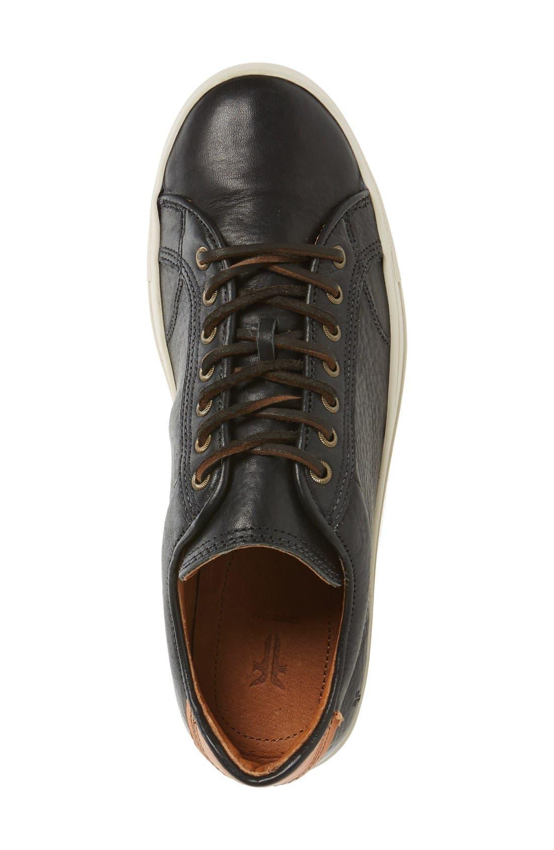 Walker Low Top Sneaker,                             Alternate thumbnail 4, color,                             001