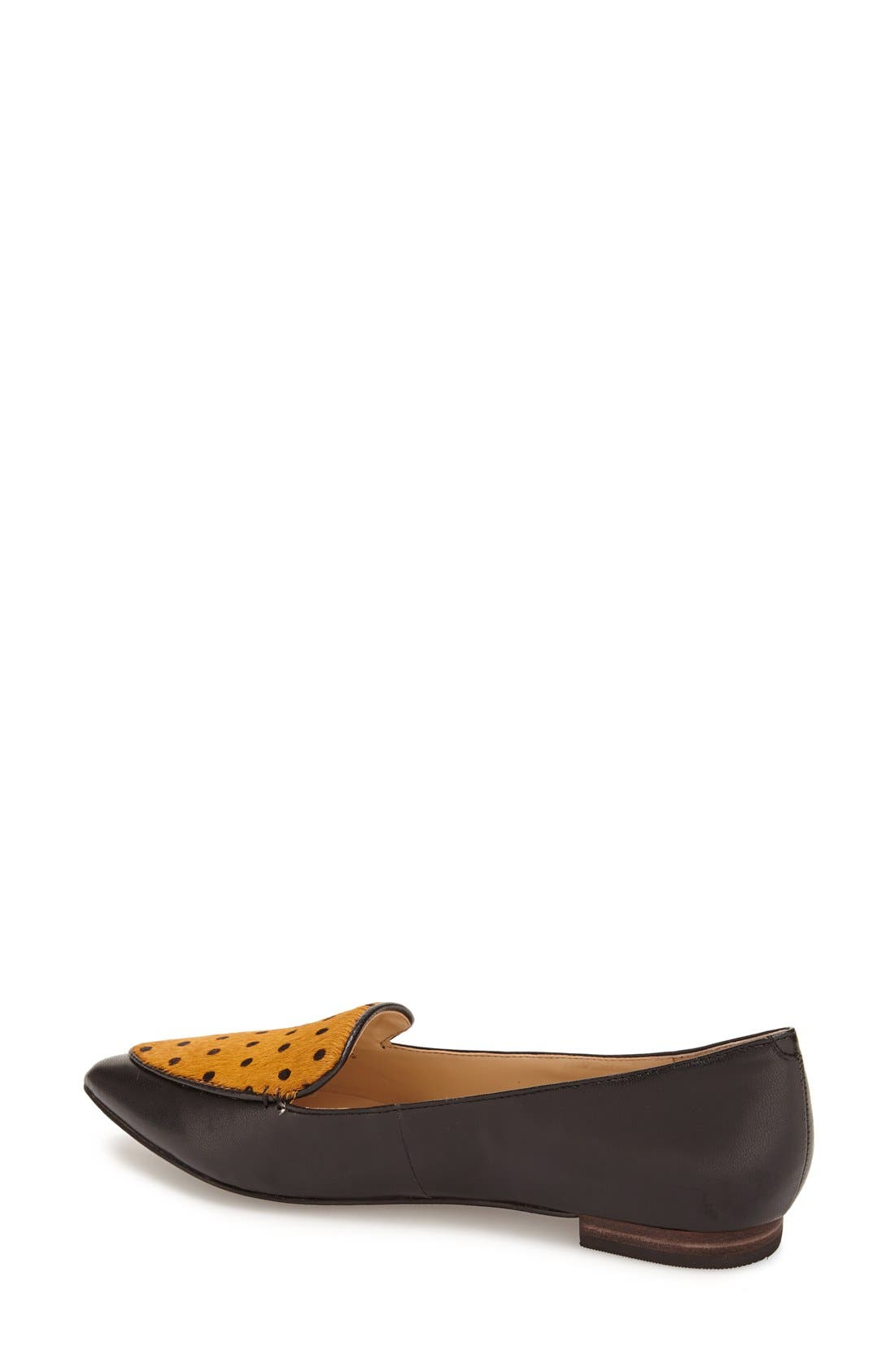 'Cammila' Pointy Toe Loafer,                             Alternate thumbnail 40, color,