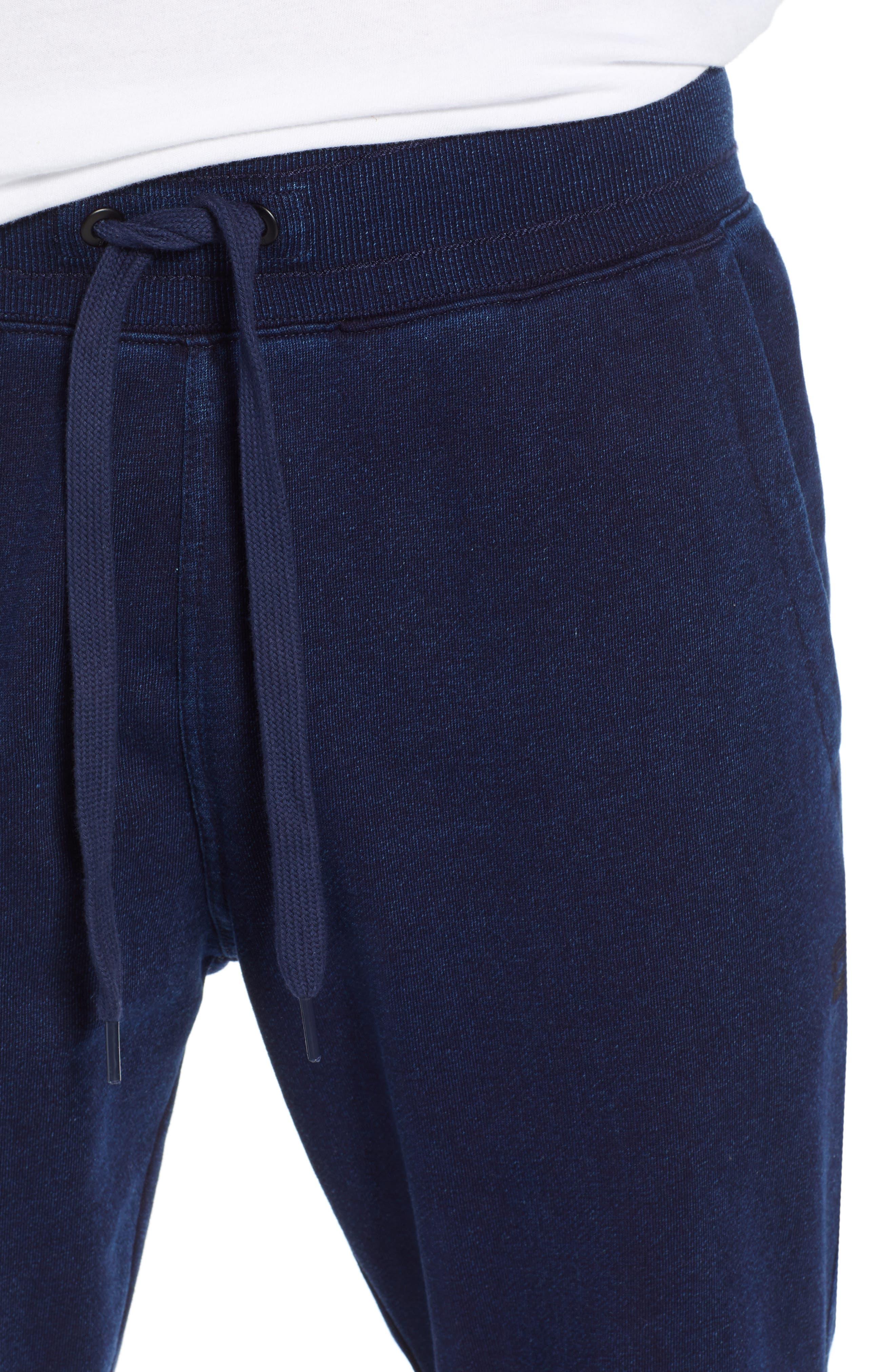 G-STAR RAW,                             Motac-X Slim Fit Sweat Pants,                             Alternate thumbnail 4, color,                             001