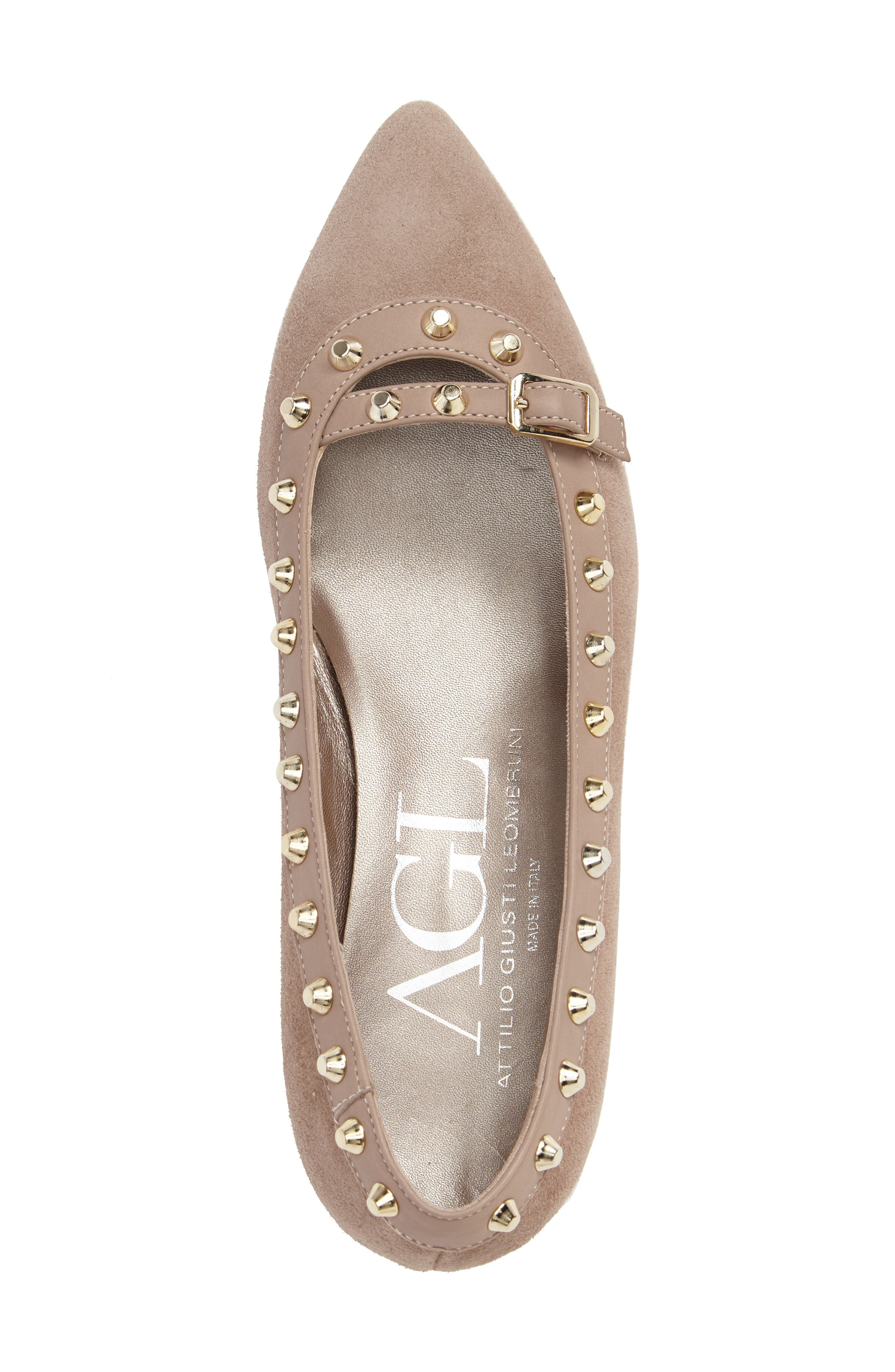Studded Mary Jane Pump,                             Alternate thumbnail 10, color,
