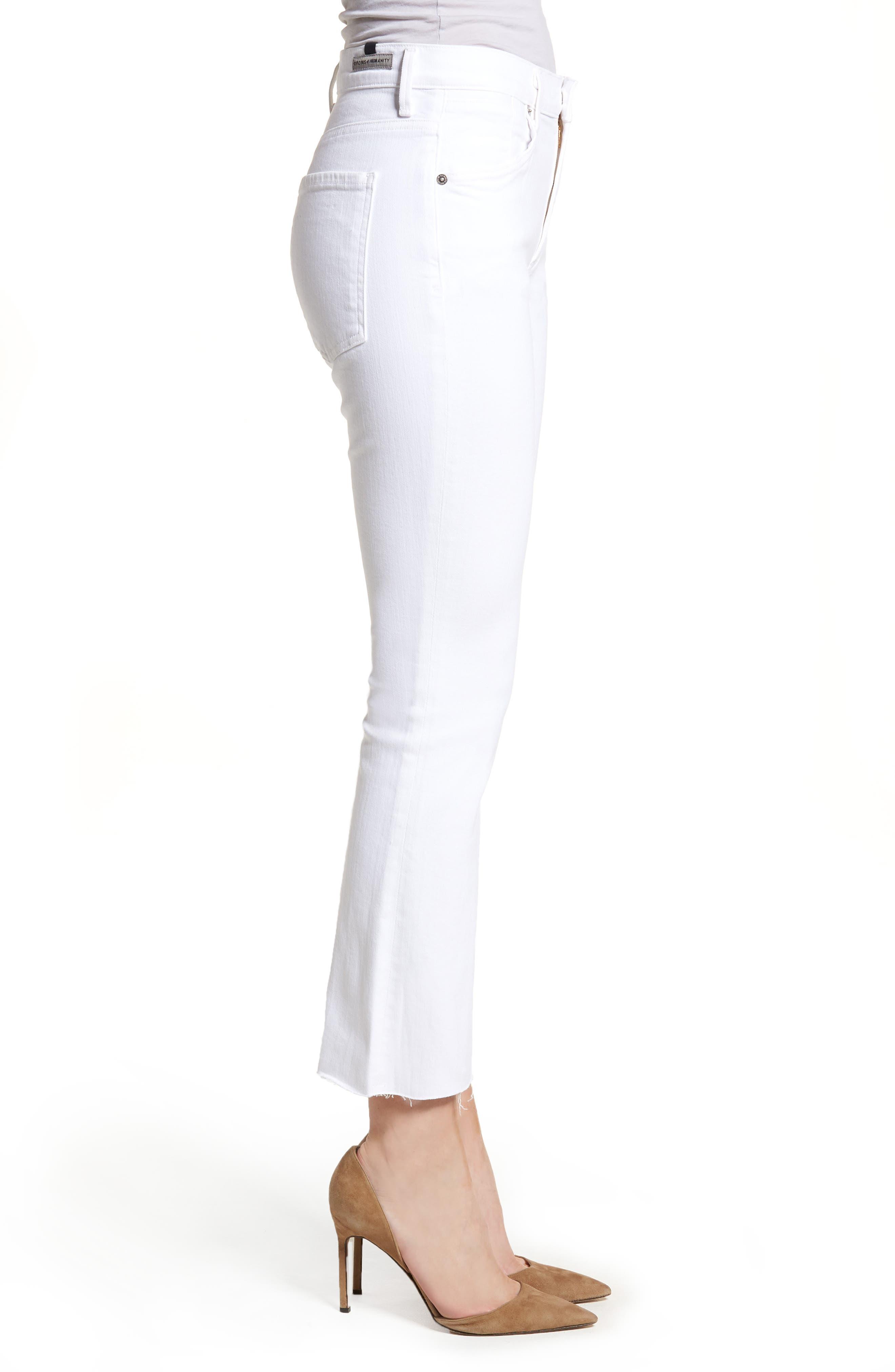 Fleetwood Crop Straight Leg Jeans,                             Alternate thumbnail 3, color,                             104