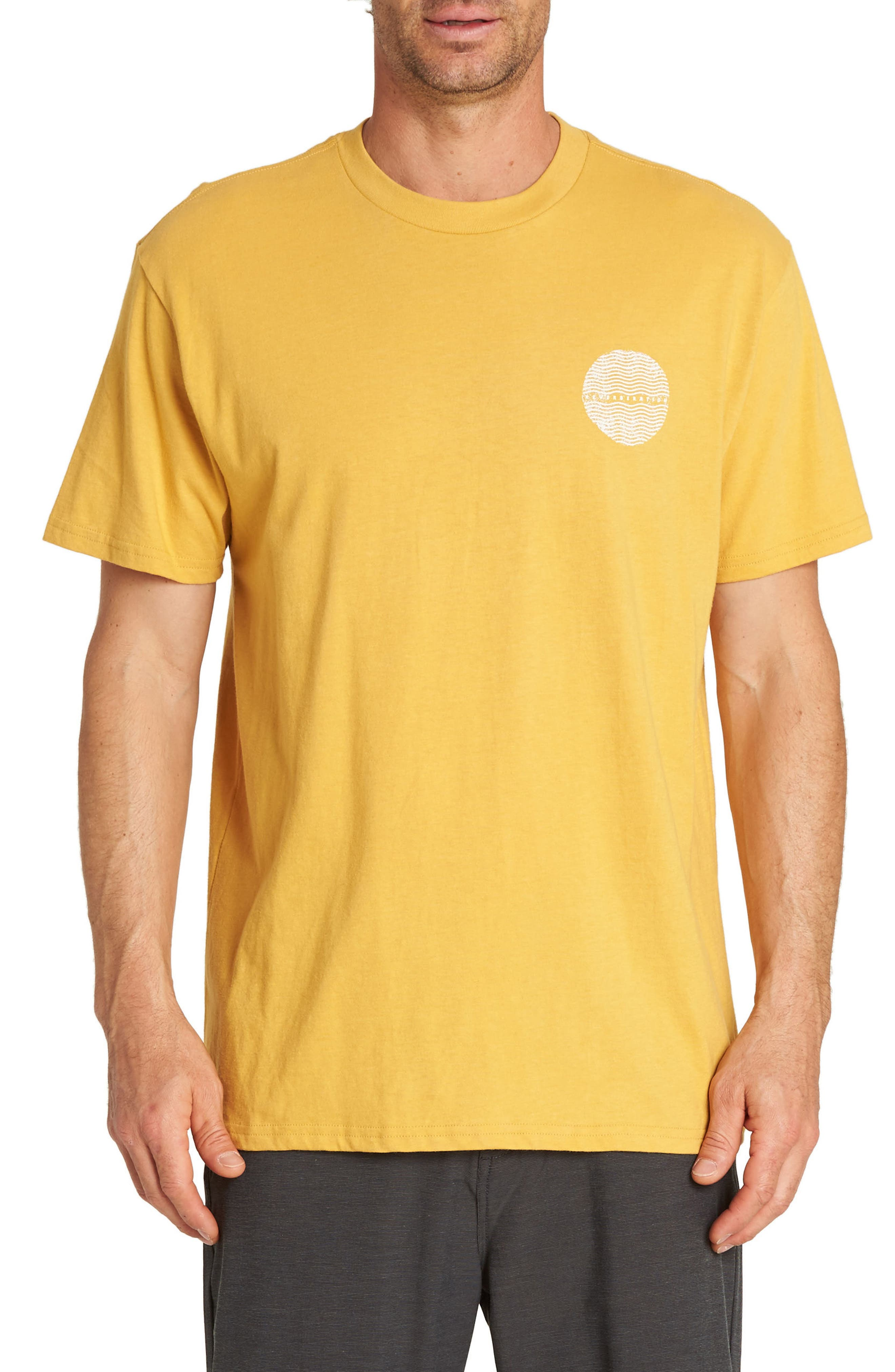 Game Graphic T-Shirt,                         Main,                         color, GOLD