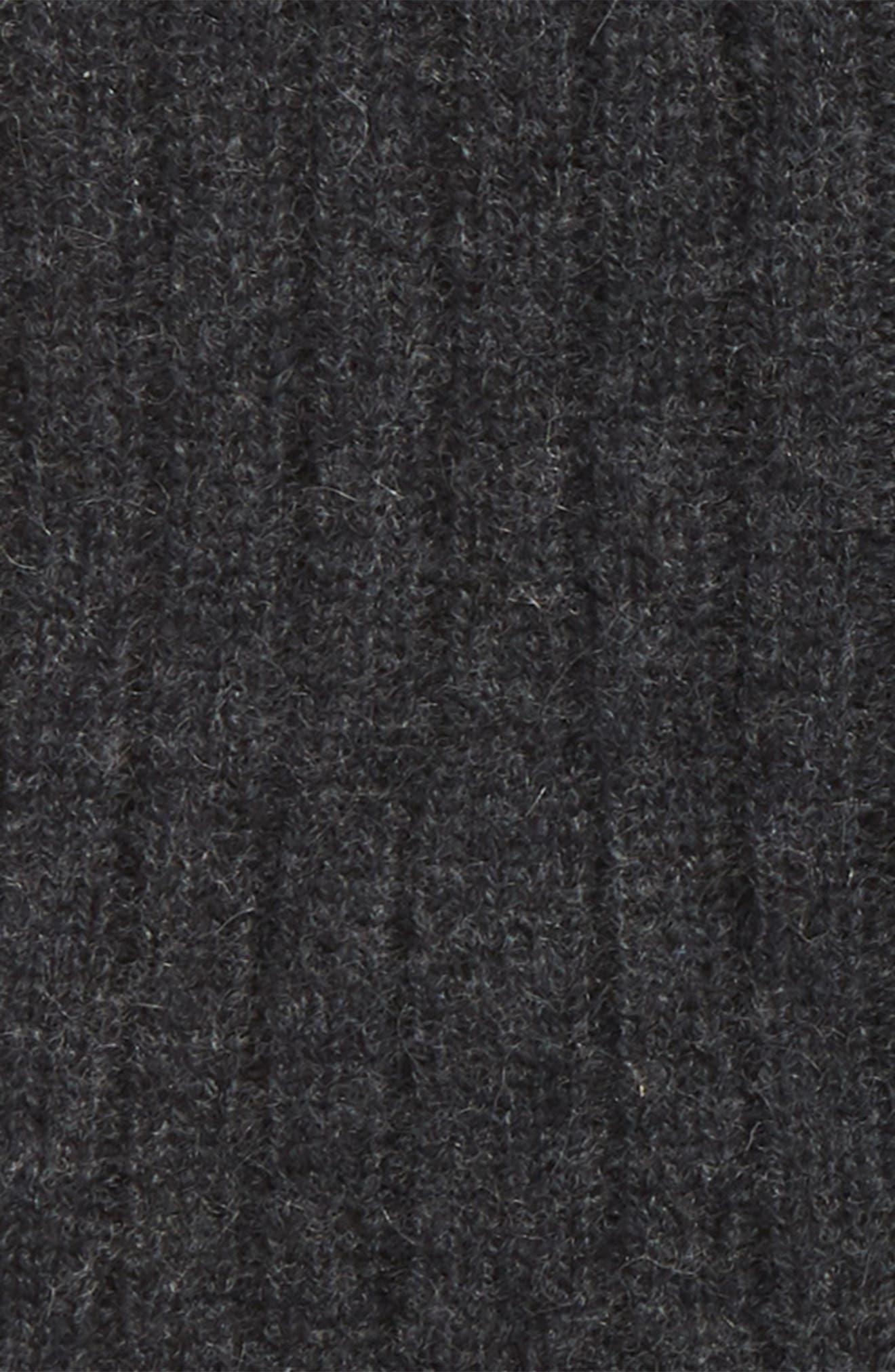 Cashmere Arm Warmer,                             Alternate thumbnail 2, color,                             BLACK ROCK HEATHER