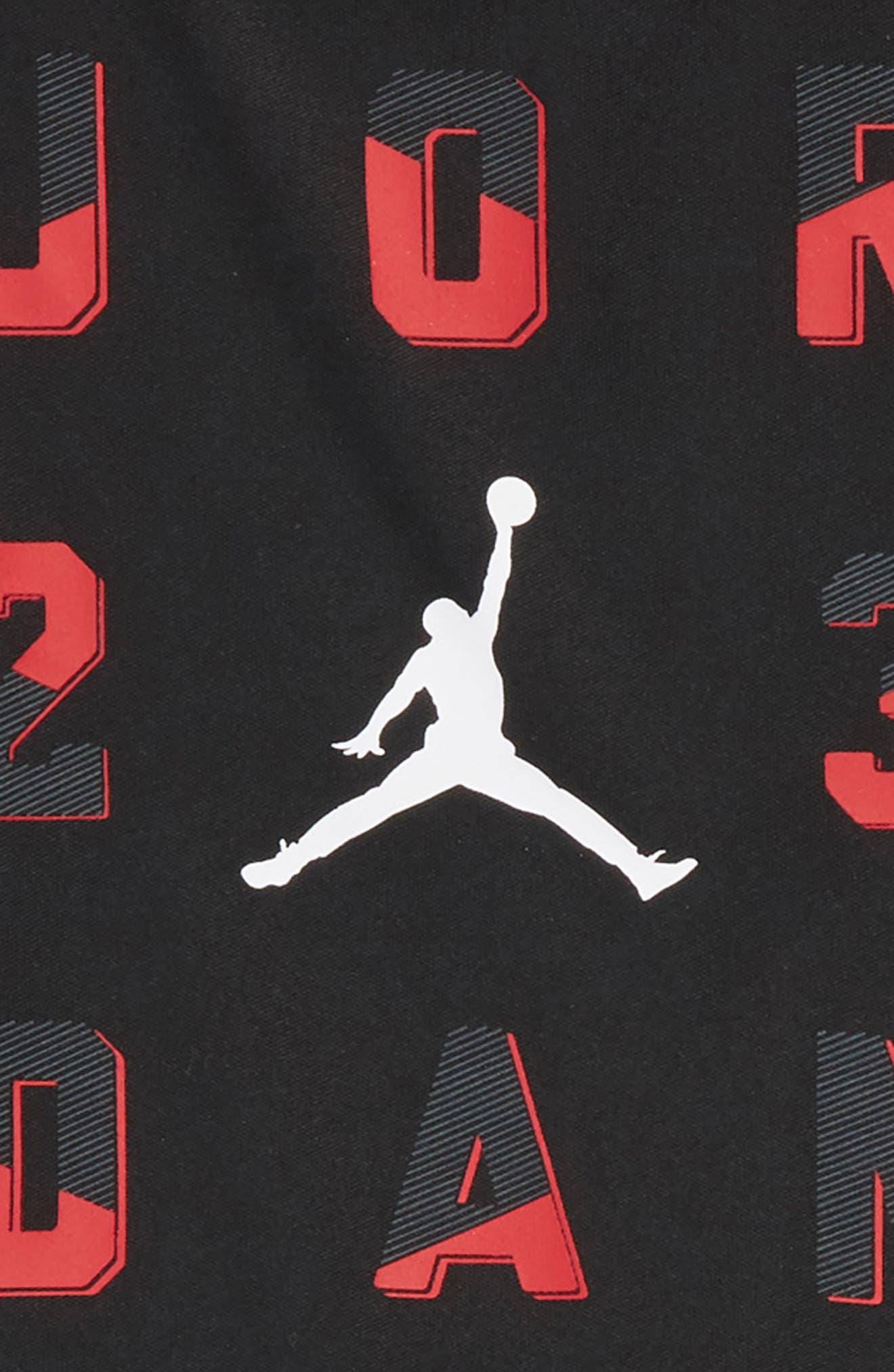 23 T-Shirt & Shorts Set,                             Alternate thumbnail 4, color,