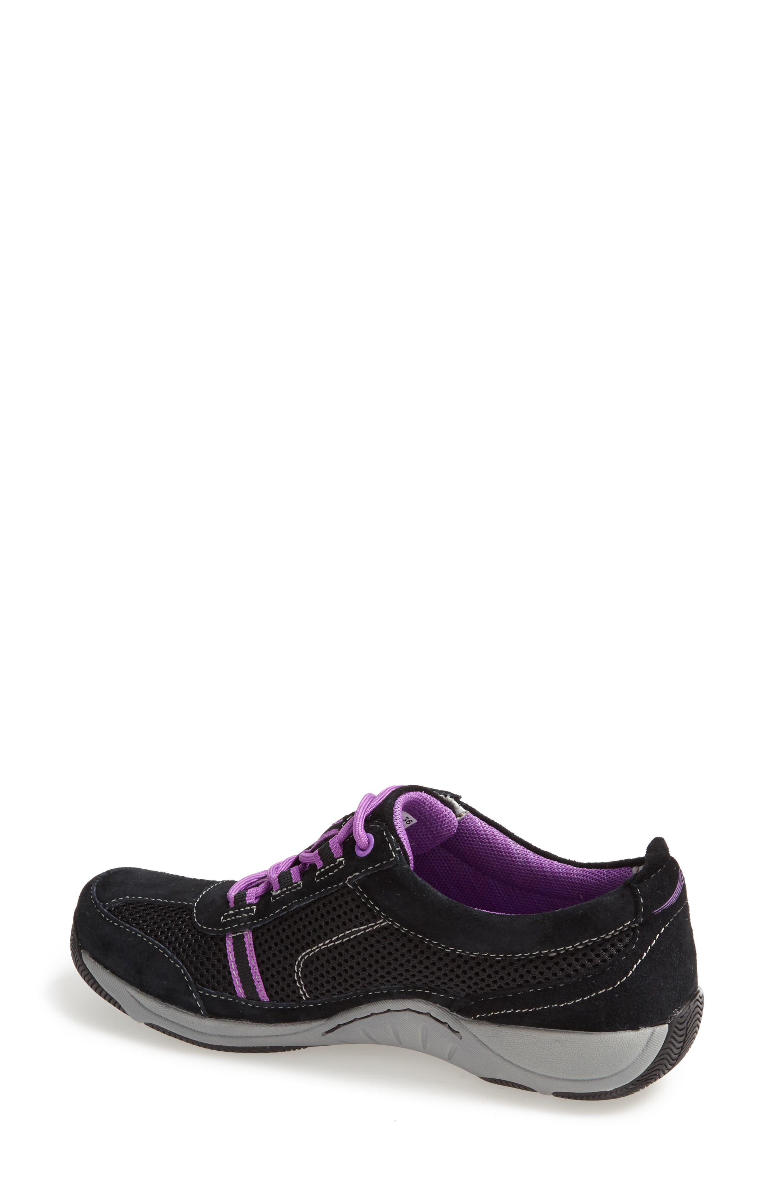 'Helen' Suede & Mesh Sneaker,                             Alternate thumbnail 62, color,