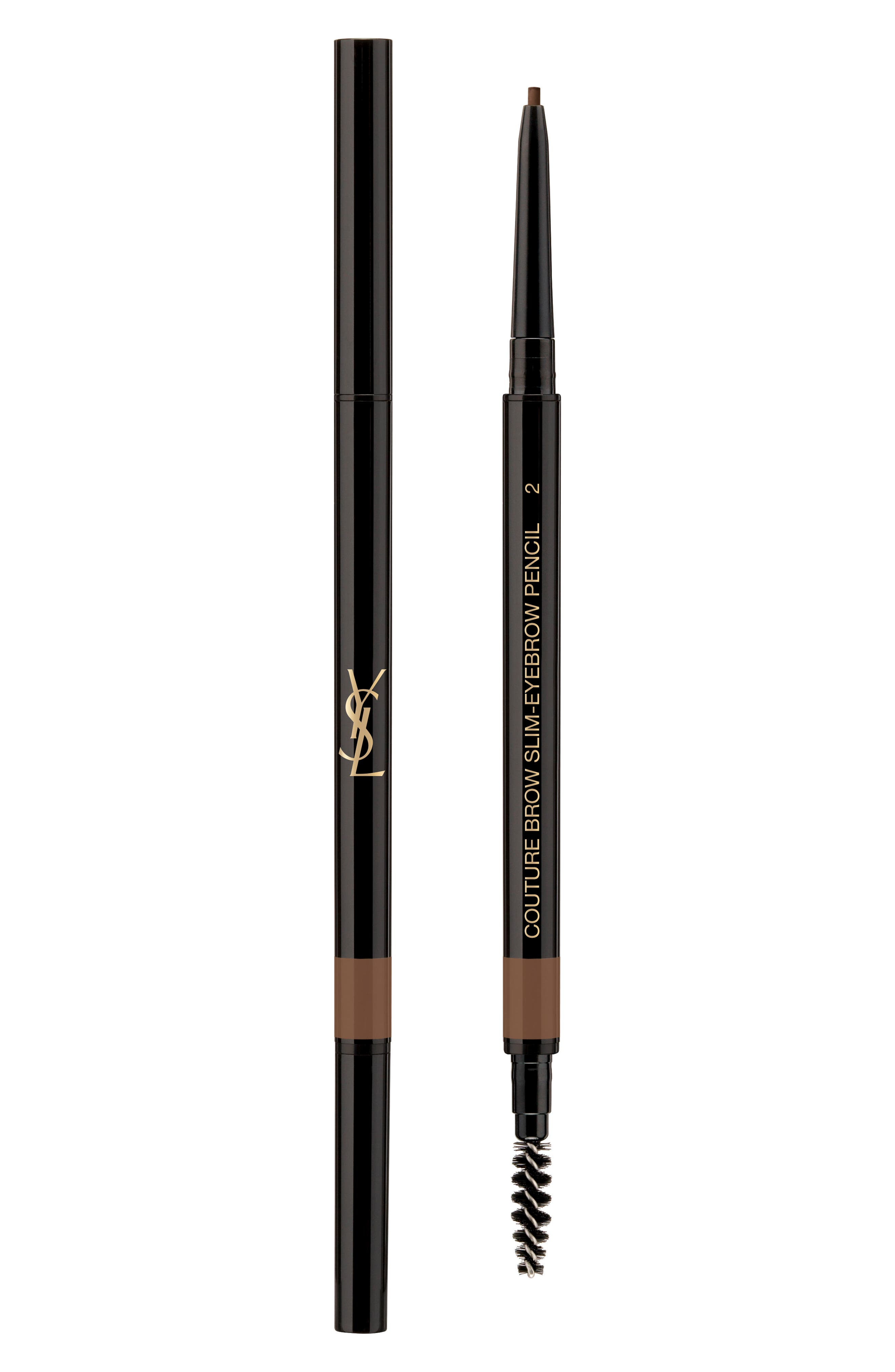 Yves Saint Laurent Couture Brow Slim Eyebrow Pencil - 02 Natural Brown