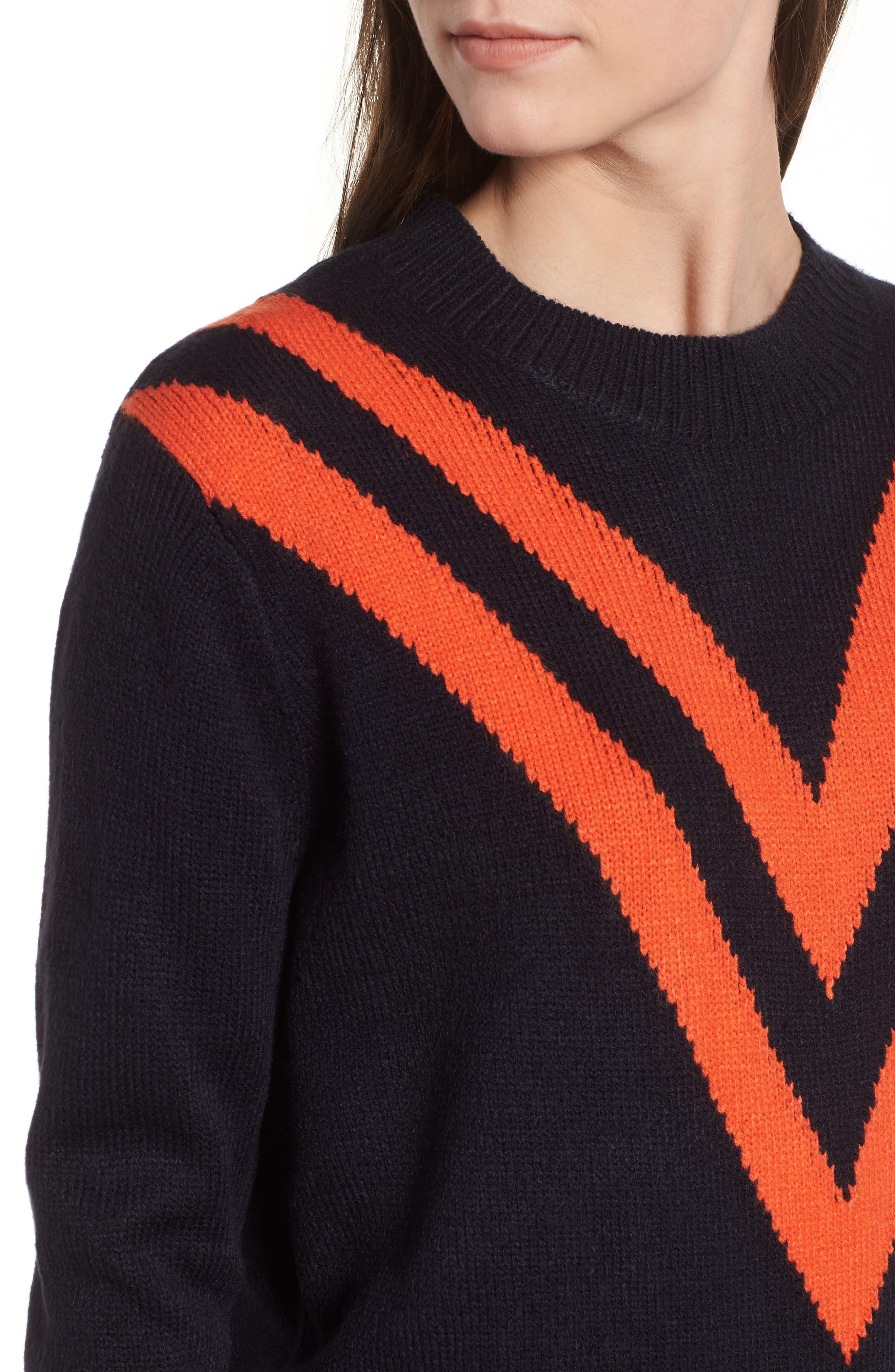Varsity Sweater,                             Alternate thumbnail 4, color,                             400