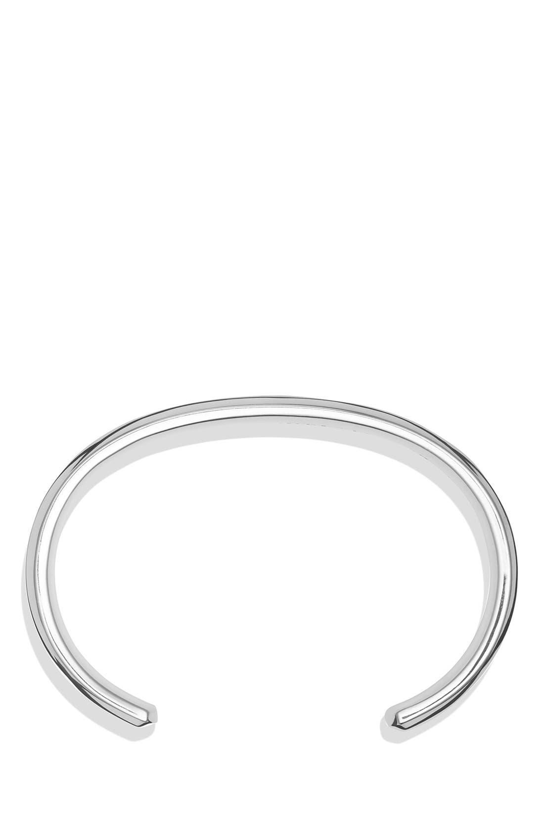 'Cable Classics' Chain Bracelet,                             Alternate thumbnail 2, color,                             SILVER