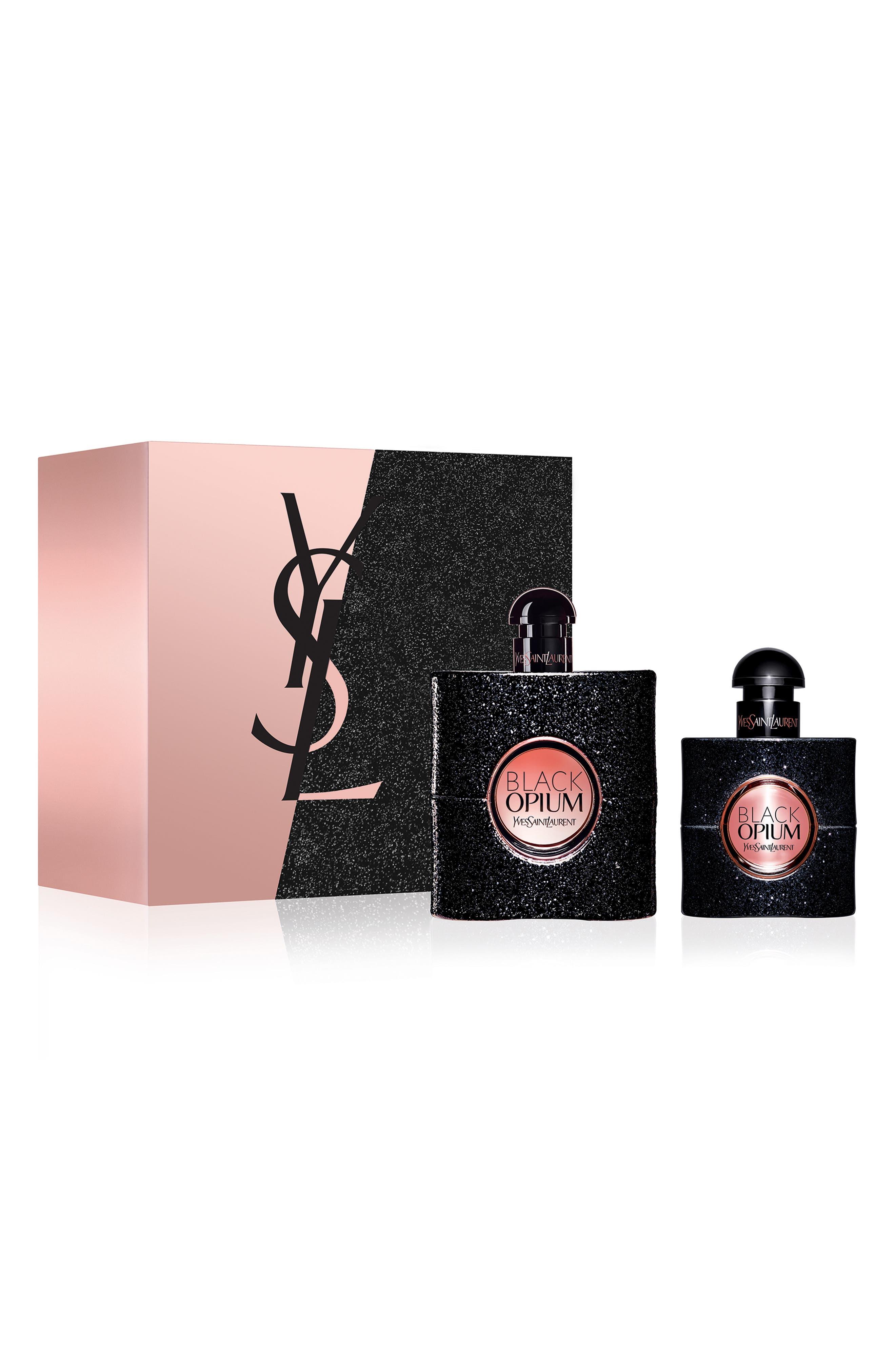Black Opium Eau de Parfum Set,                             Main thumbnail 1, color,                             000
