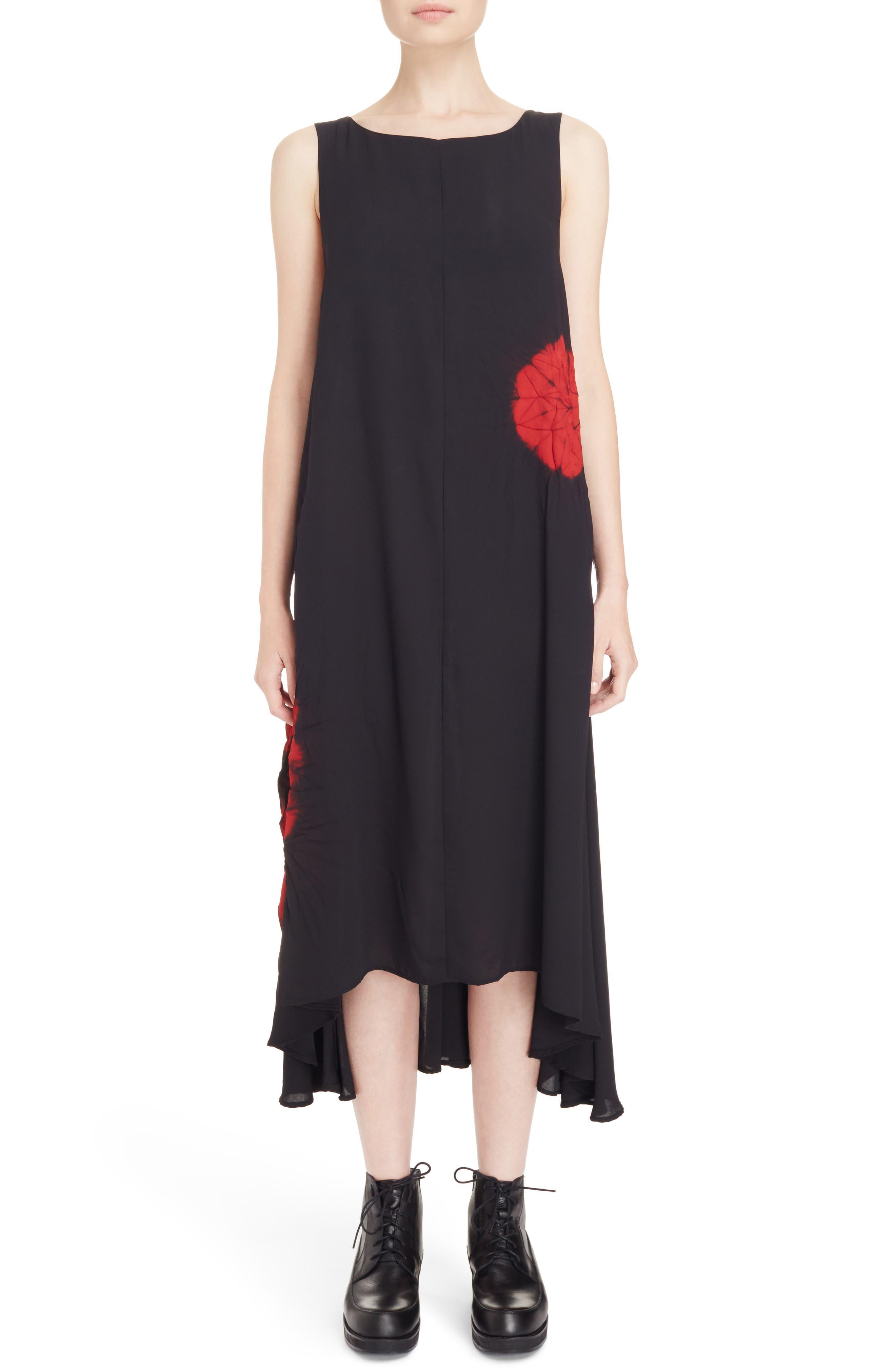 Print V-Back Shift Dress,                         Main,                         color, 001