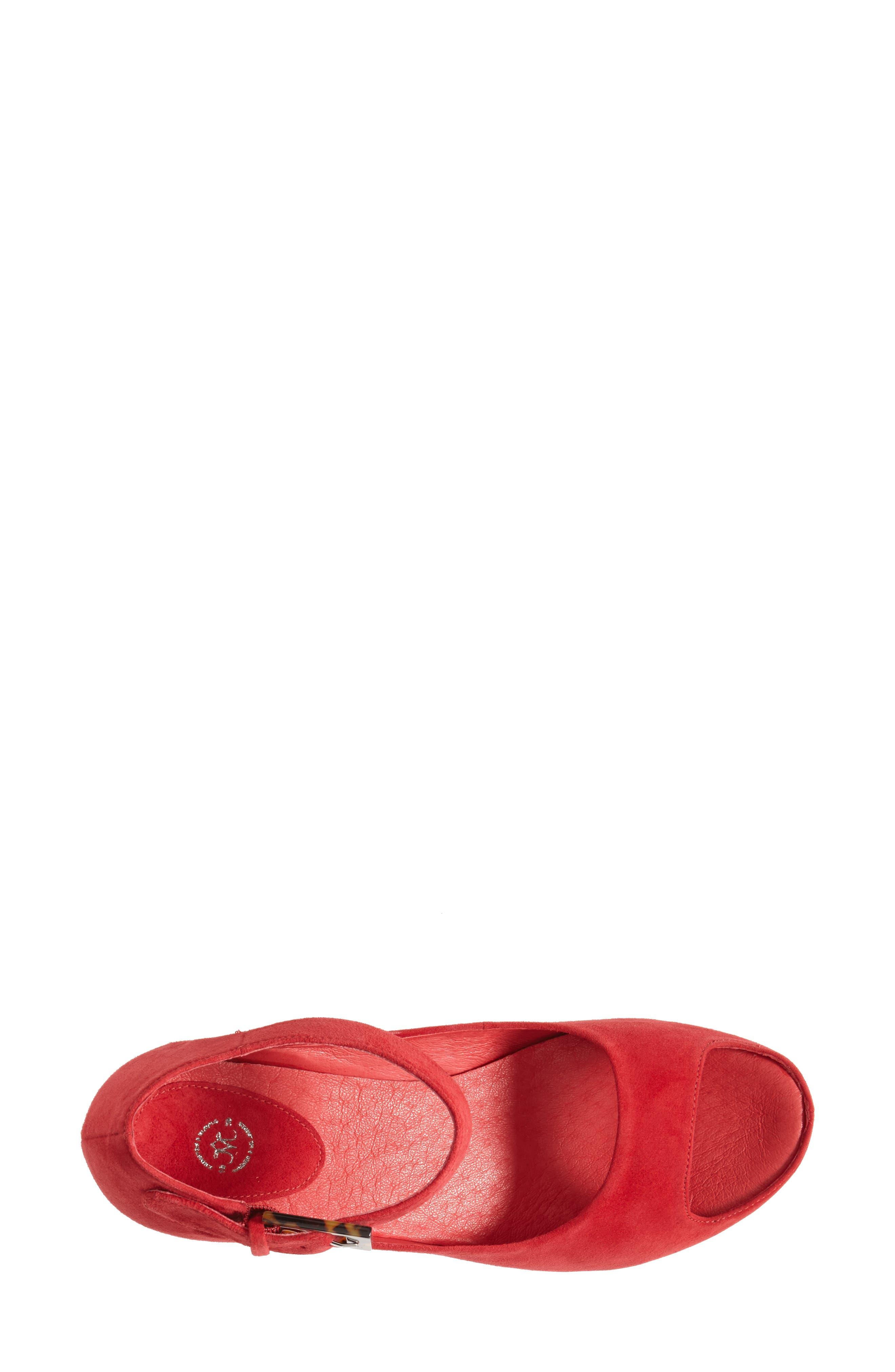 'Tricia' Ankle Strap Sandal,                             Alternate thumbnail 18, color,
