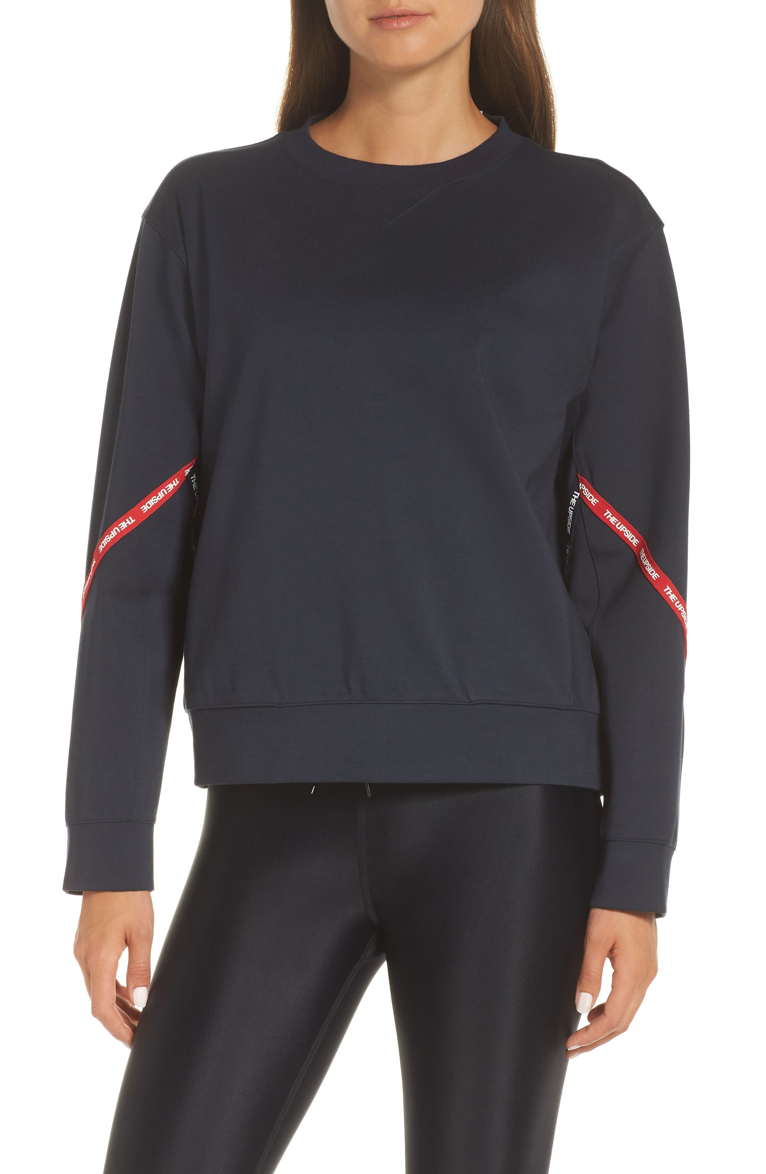 Bardot Crew Sweatshirt,                             Main thumbnail 1, color,                             400
